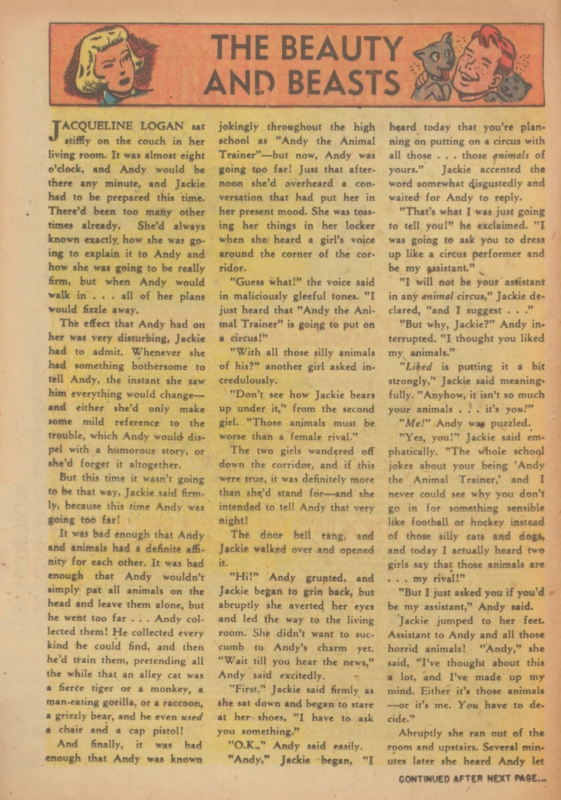 Read online Nellie The Nurse (1945) comic -  Issue #33 - 16