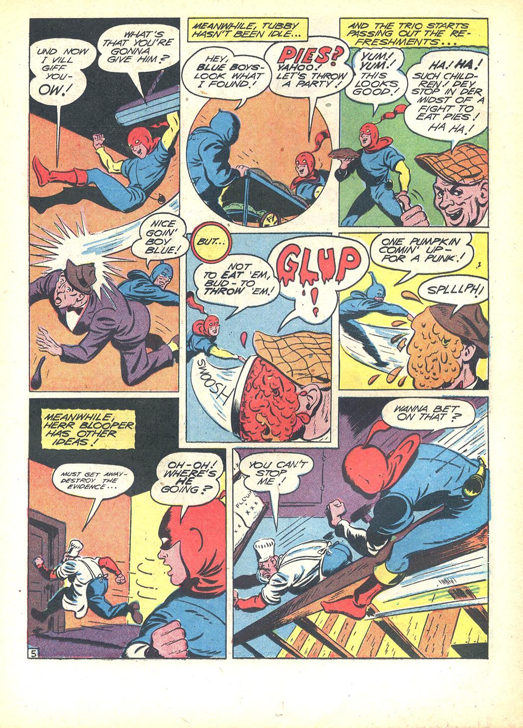 Read online Sensation (Mystery) Comics comic -  Issue #23 - 29