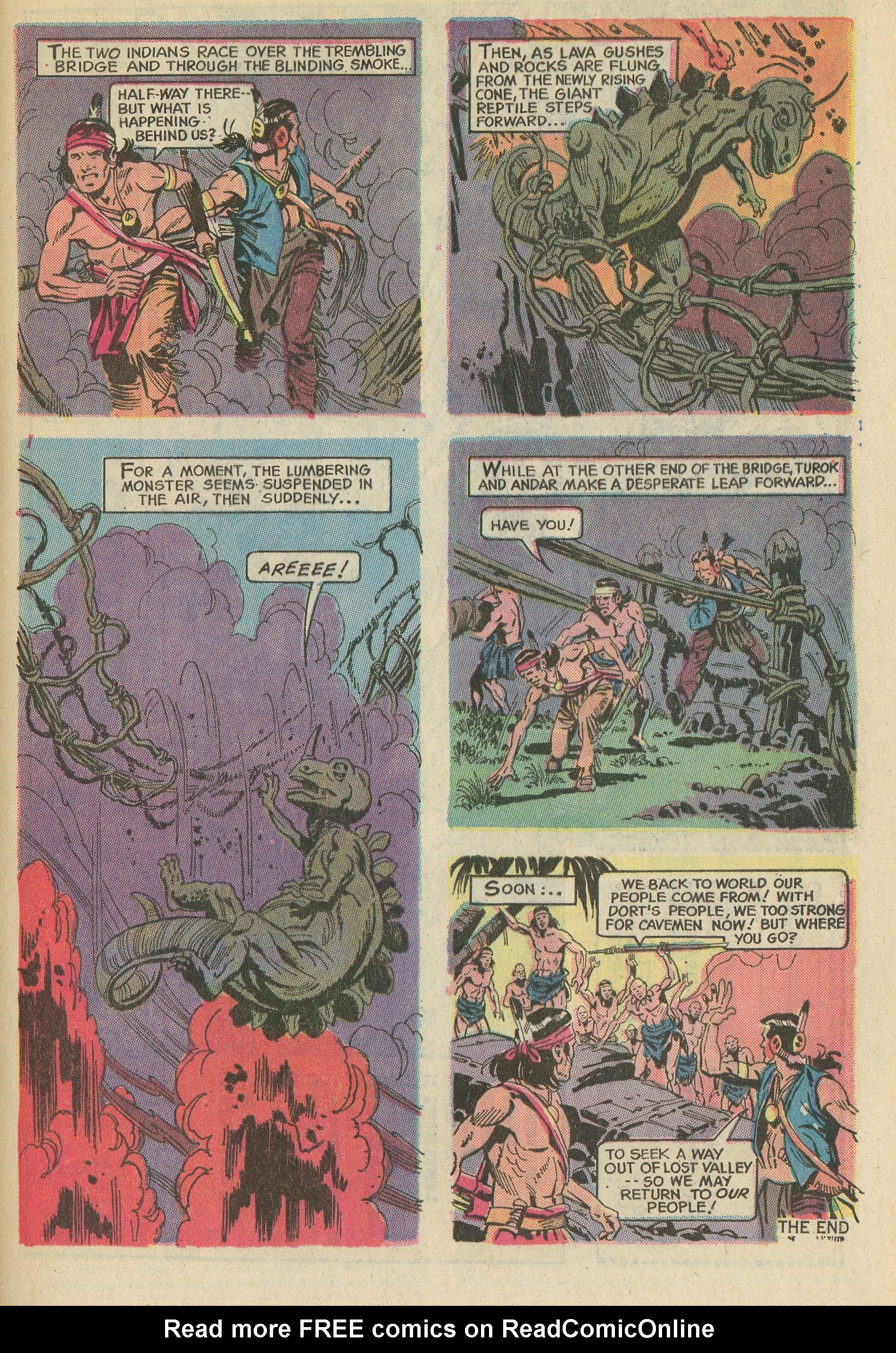 Read online Turok, Son of Stone comic -  Issue #78 - 33