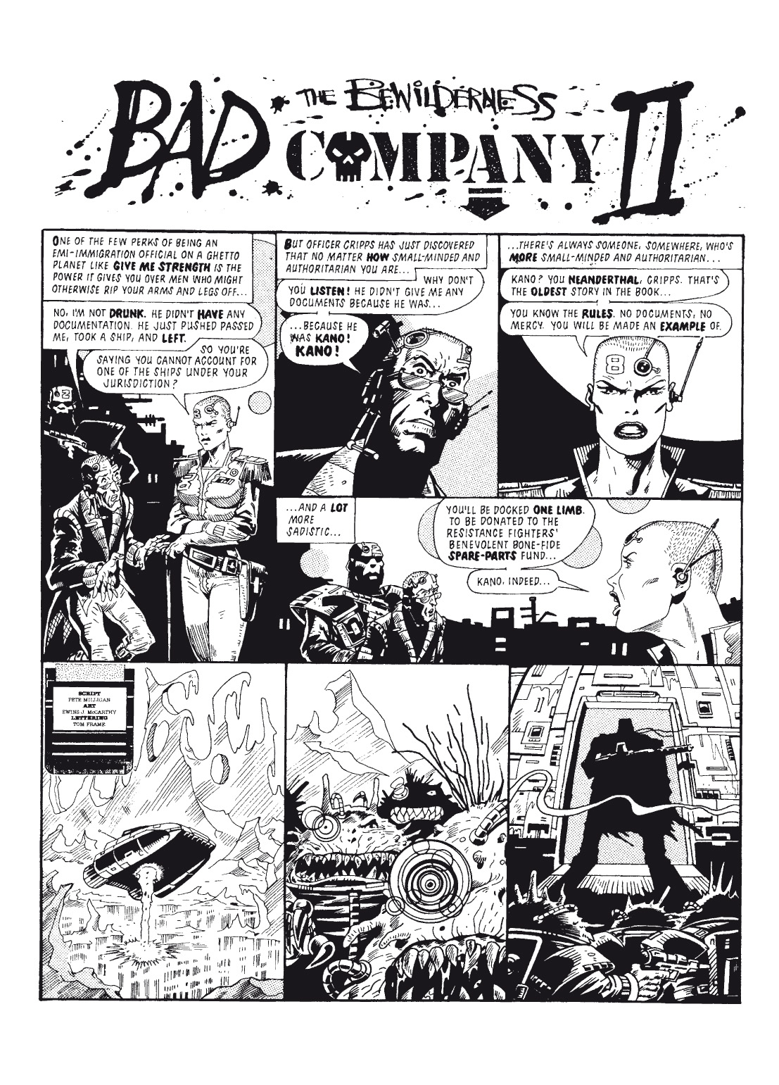 Read online The Complete Bad Company comic -  Issue # TPB - 132