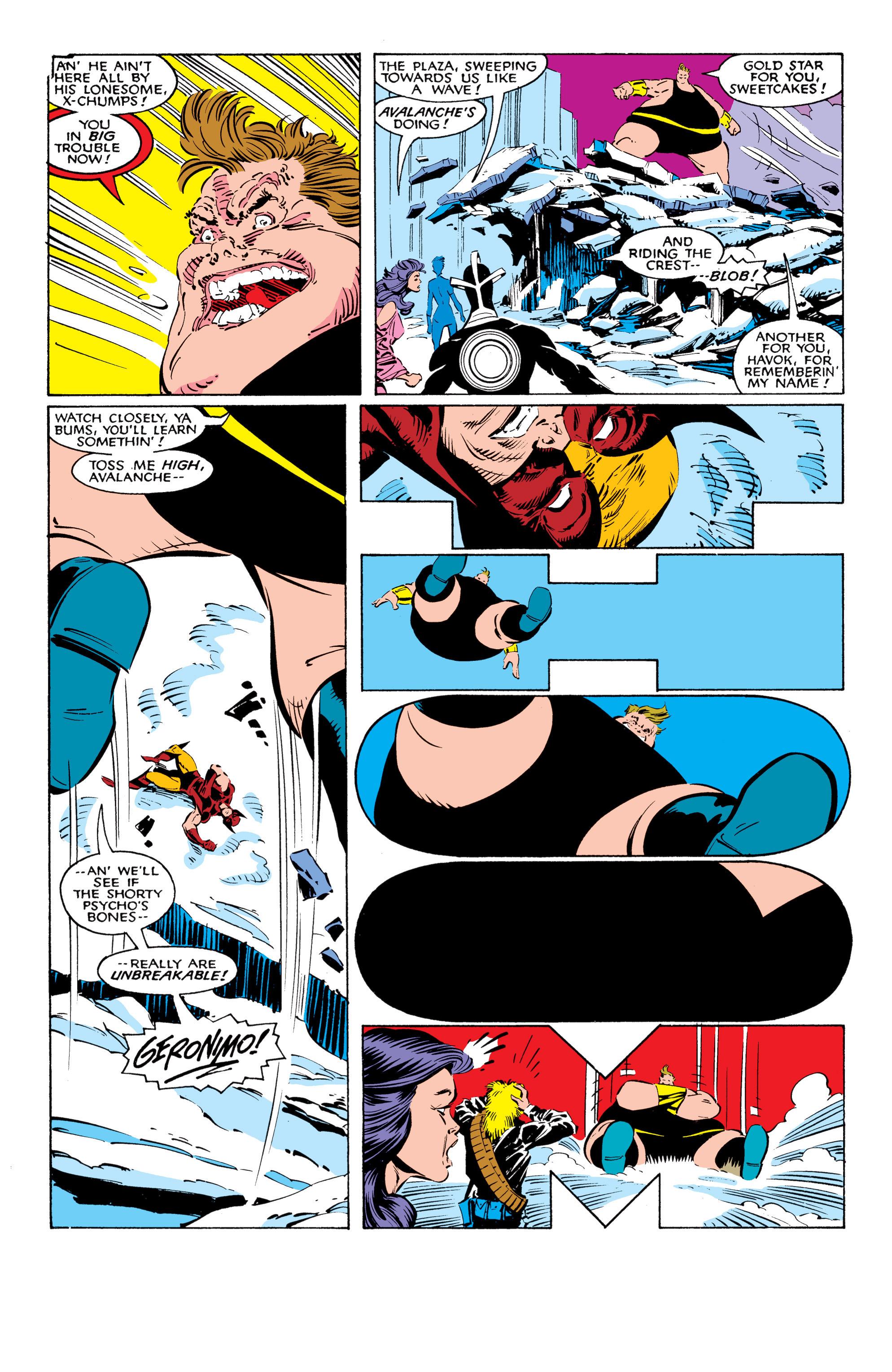Read online Uncanny X-Men (1963) comic -  Issue #225 - 17