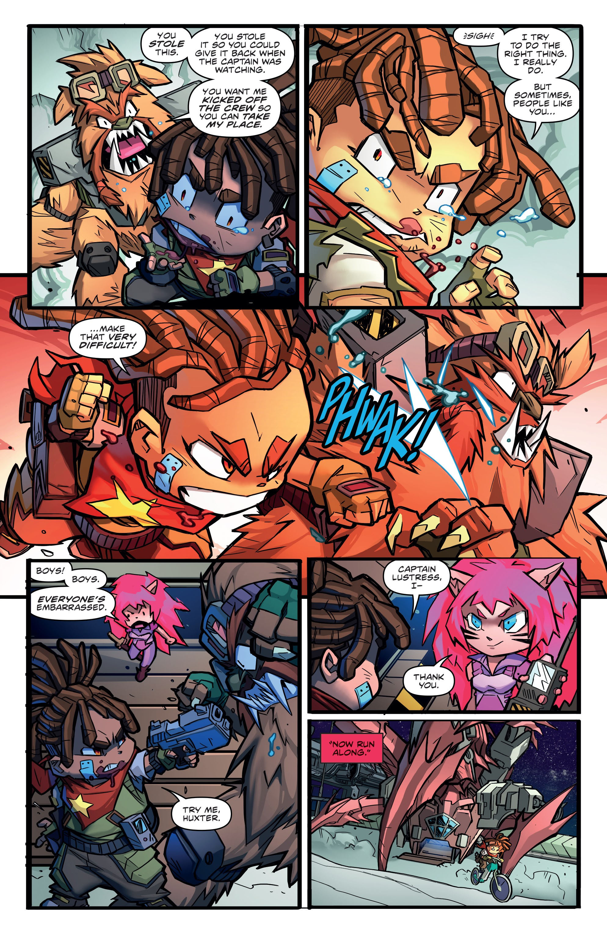 Read online Starcadia Quest comic -  Issue #1 - 17
