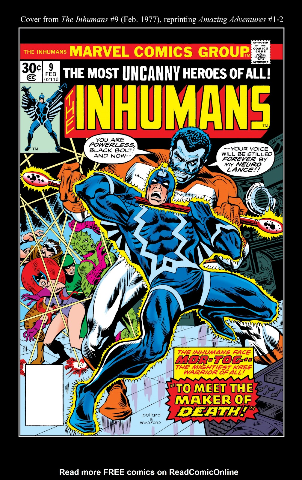 Read online Marvel Masterworks: The Inhumans comic -  Issue # TPB 2 (Part 2) - 54