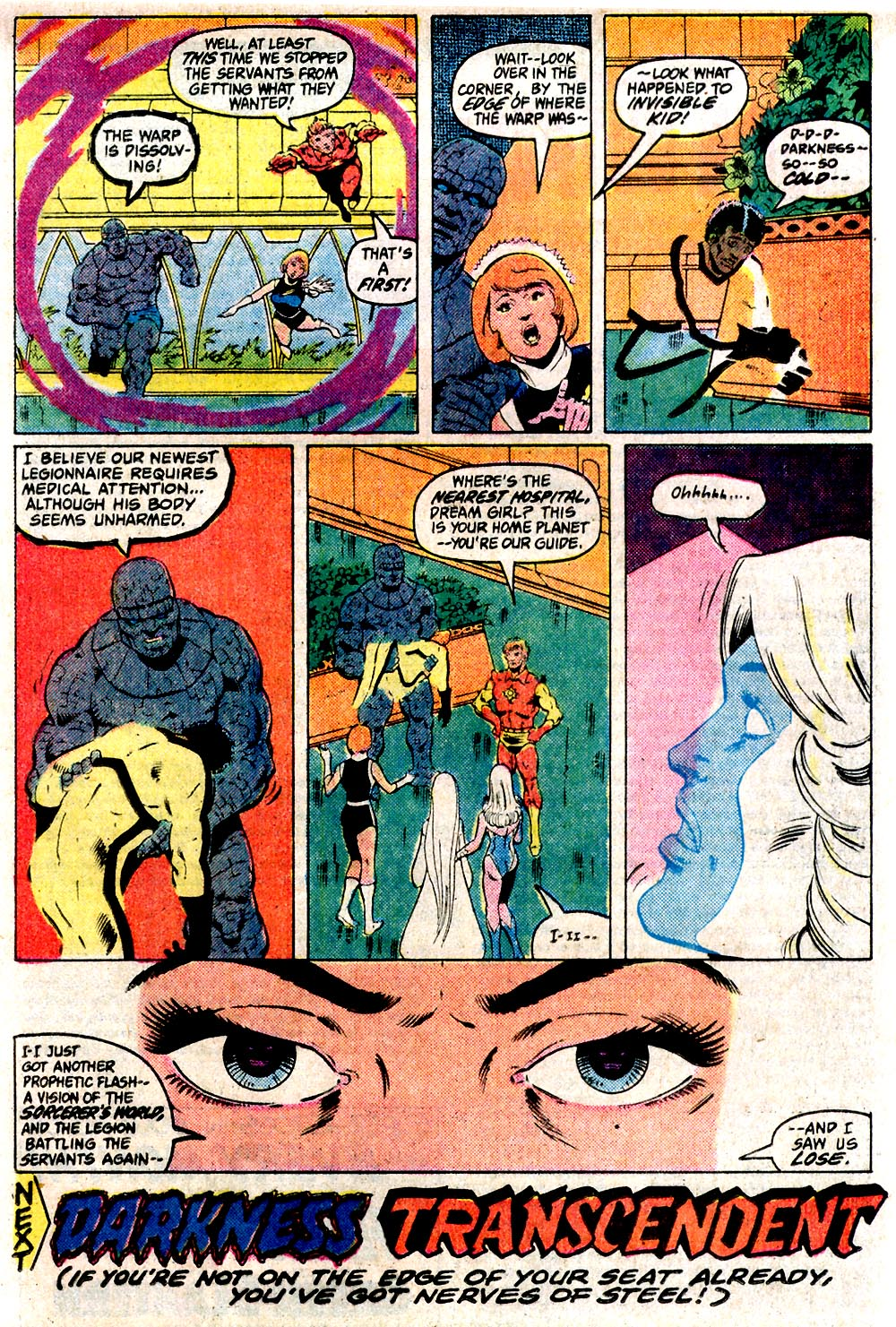 Legion of Super-Heroes (1980) 291 Page 18