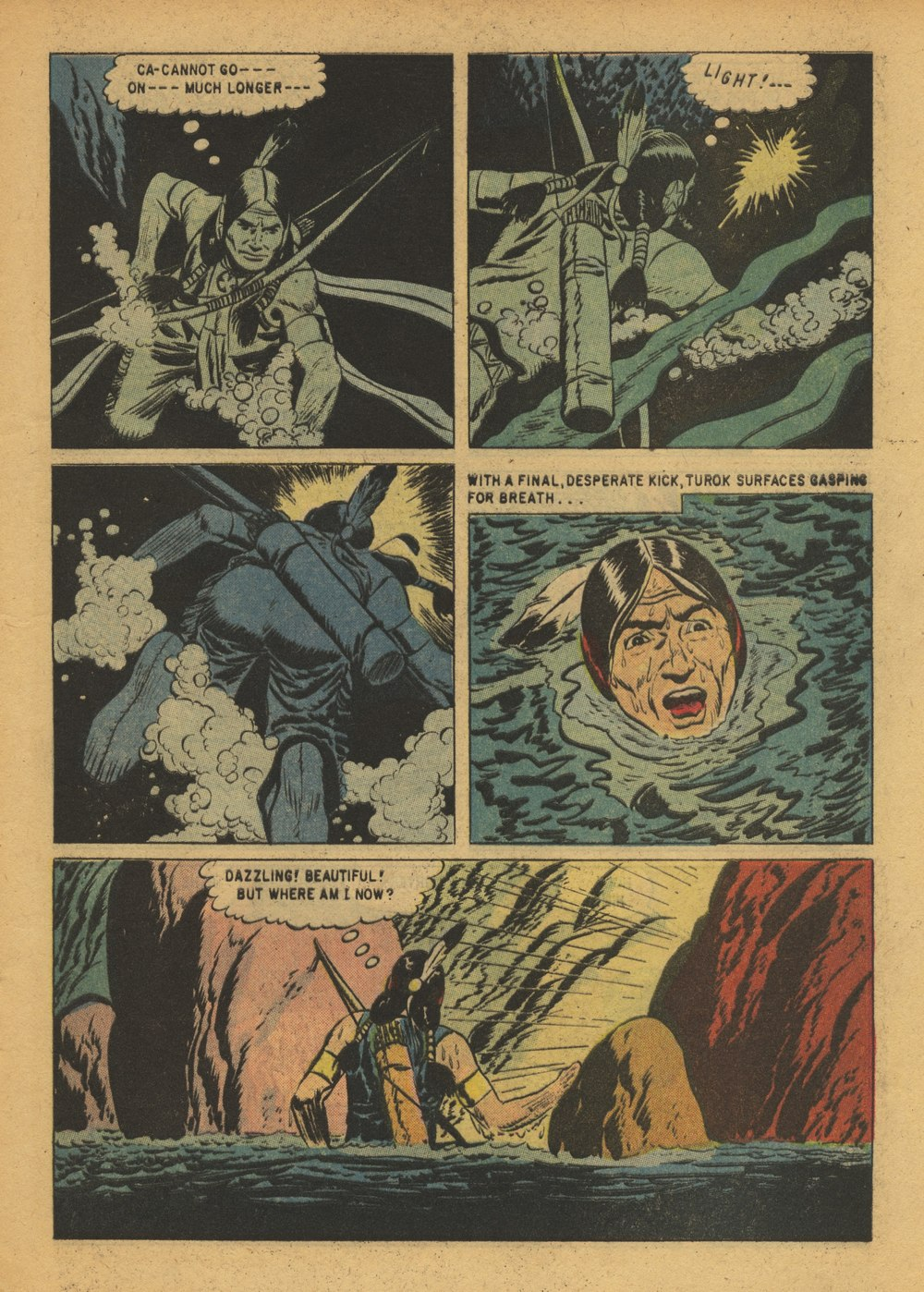 Read online Turok, Son of Stone comic -  Issue #15 - 9