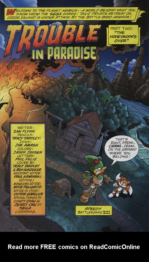 Read online Sonic Universe comic -  Issue #18 - 2
