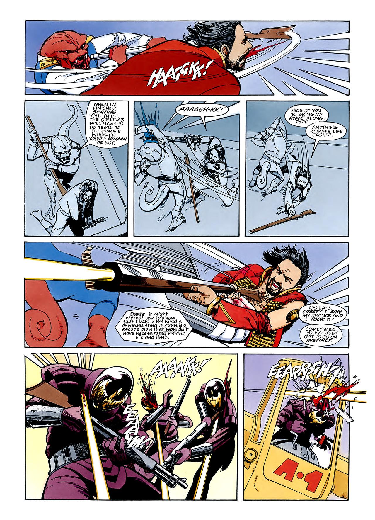 Read online Nikolai Dante comic -  Issue # TPB 3 - 91