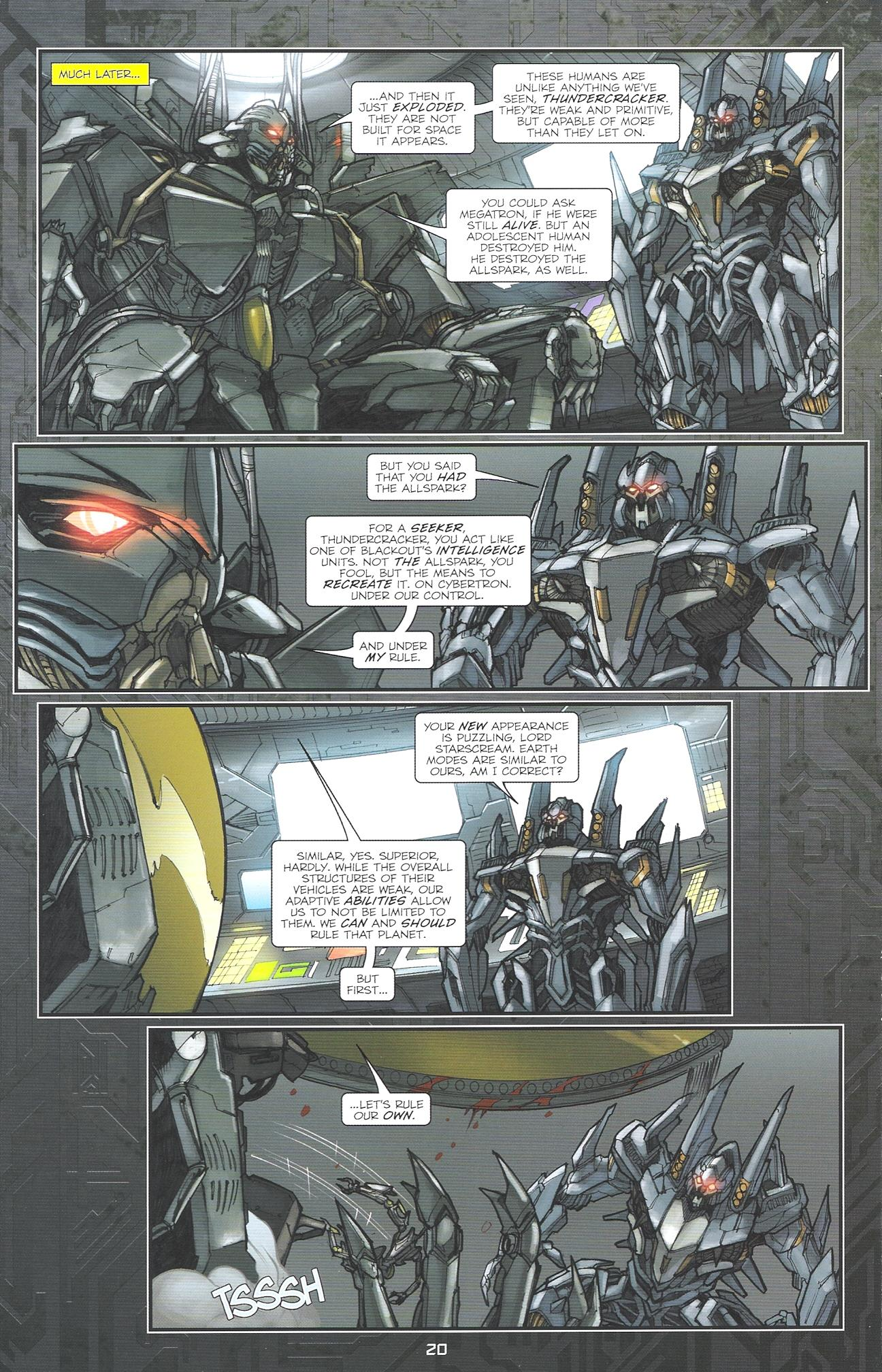 Read online Transformers: The Reign of Starscream comic -  Issue #2 - 22