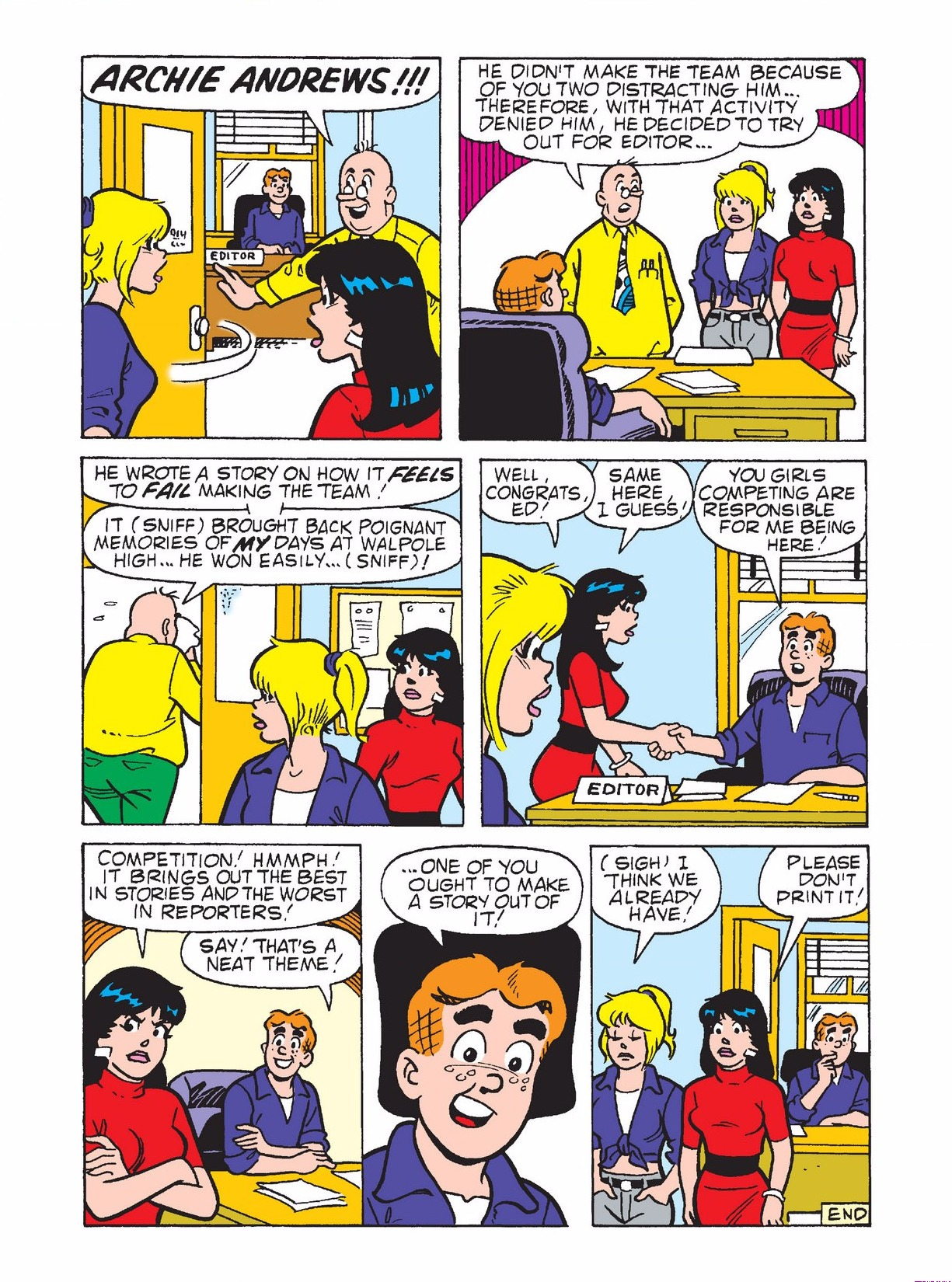 Read online Archie 1000 Page Comics Bonanza comic -  Issue #3 (Part 1) - 151
