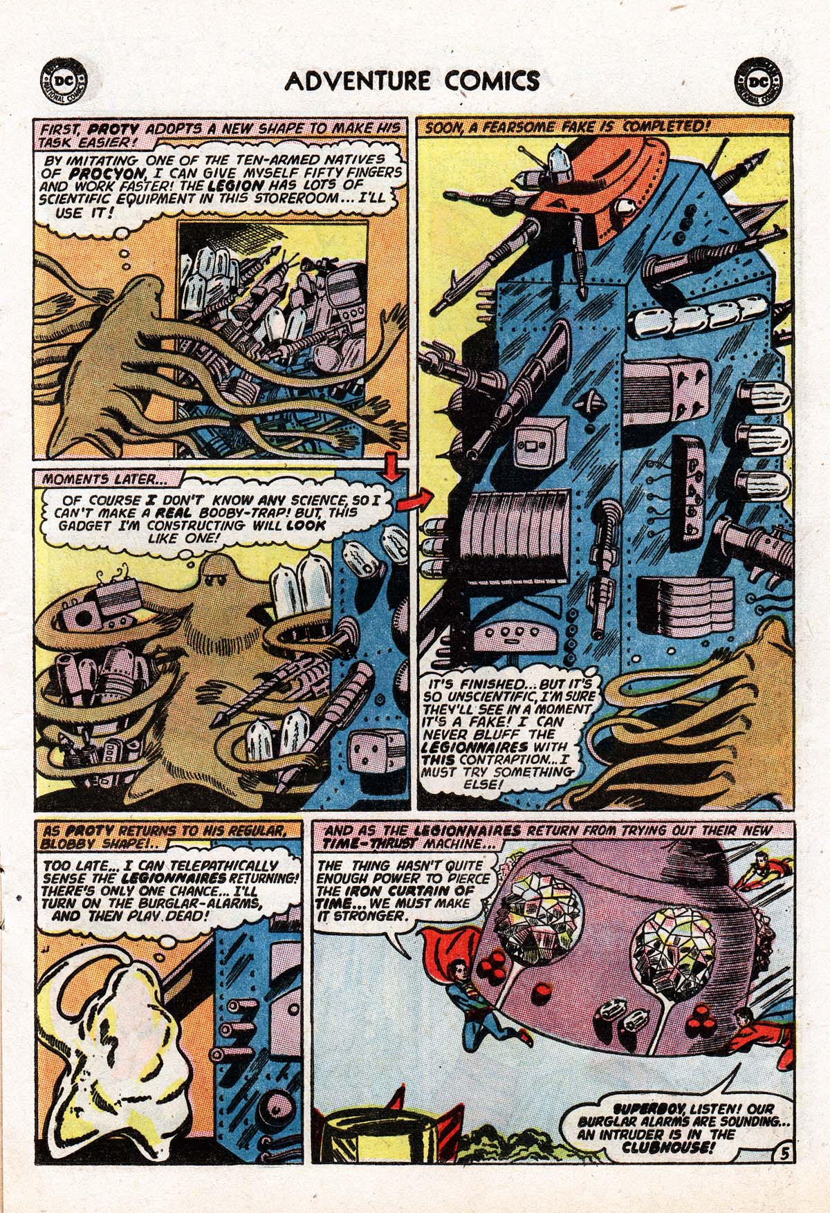 Read online Adventure Comics (1938) comic -  Issue #322 - 17