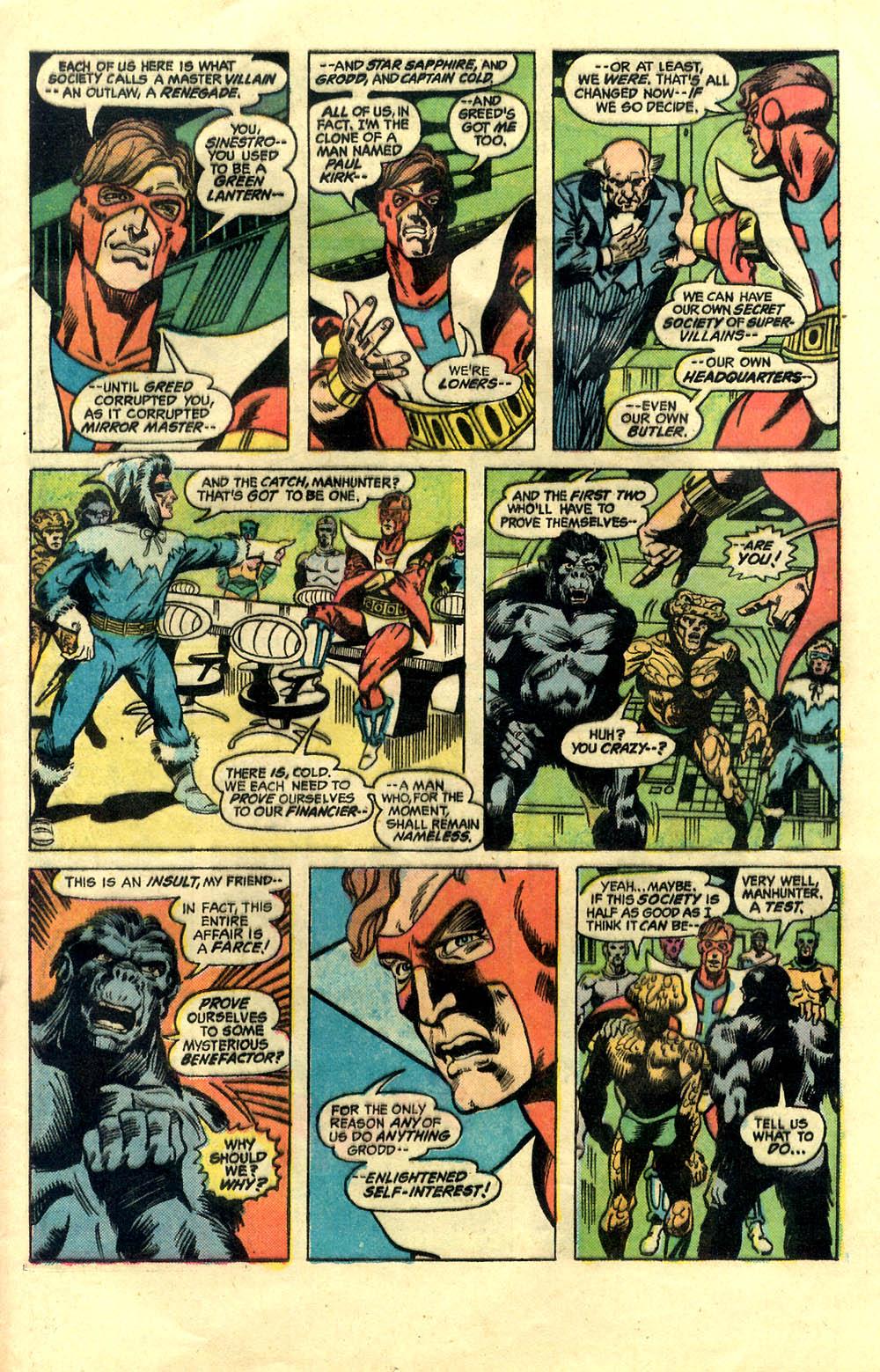 Read online Secret Society of Super-Villains comic -  Issue #1 - 13