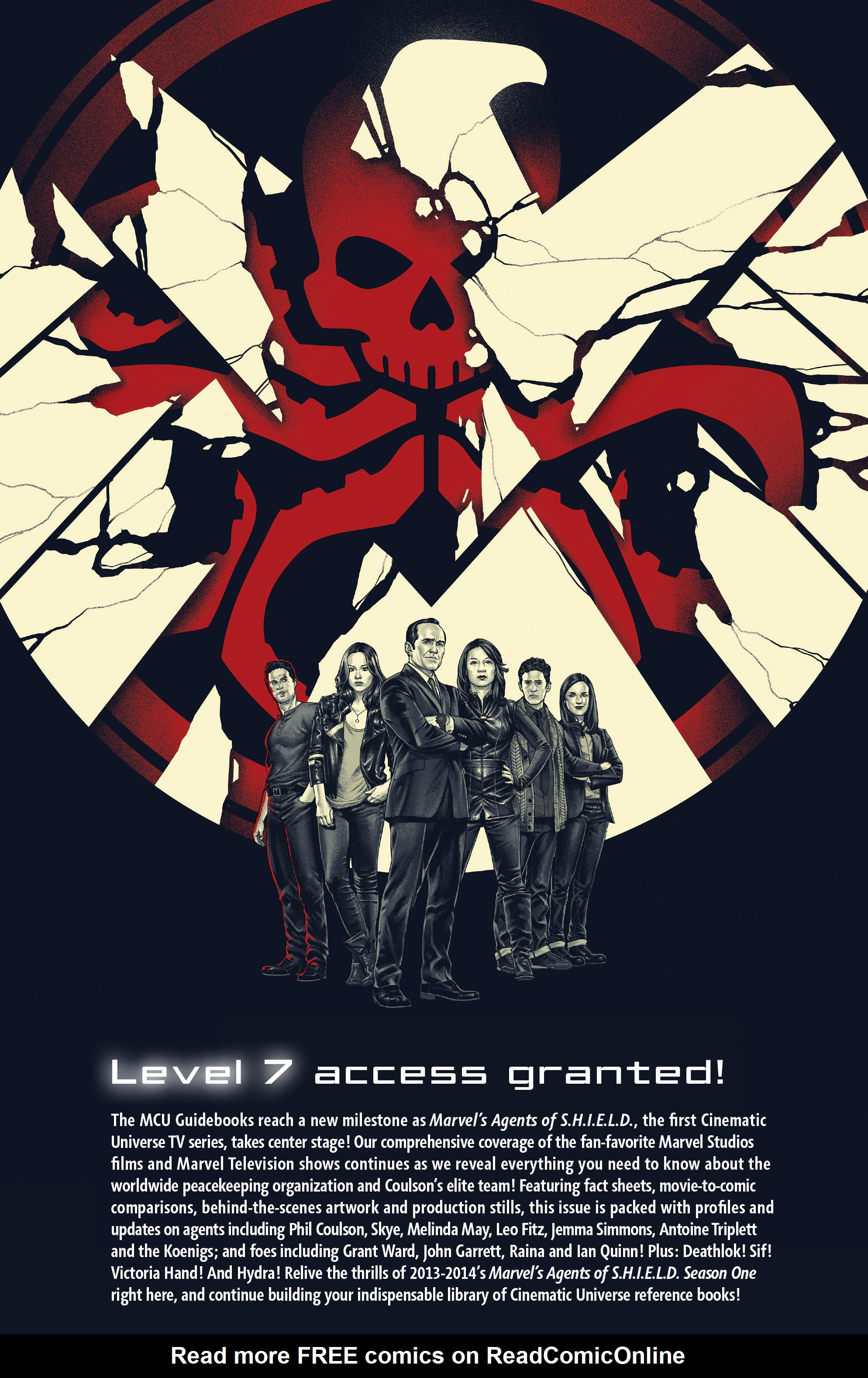 Read online Guidebook to the Marvel Cinematic Universe - Marvel's Agents of S.H.I.E.L.D. Season One comic -  Issue # Full - 24