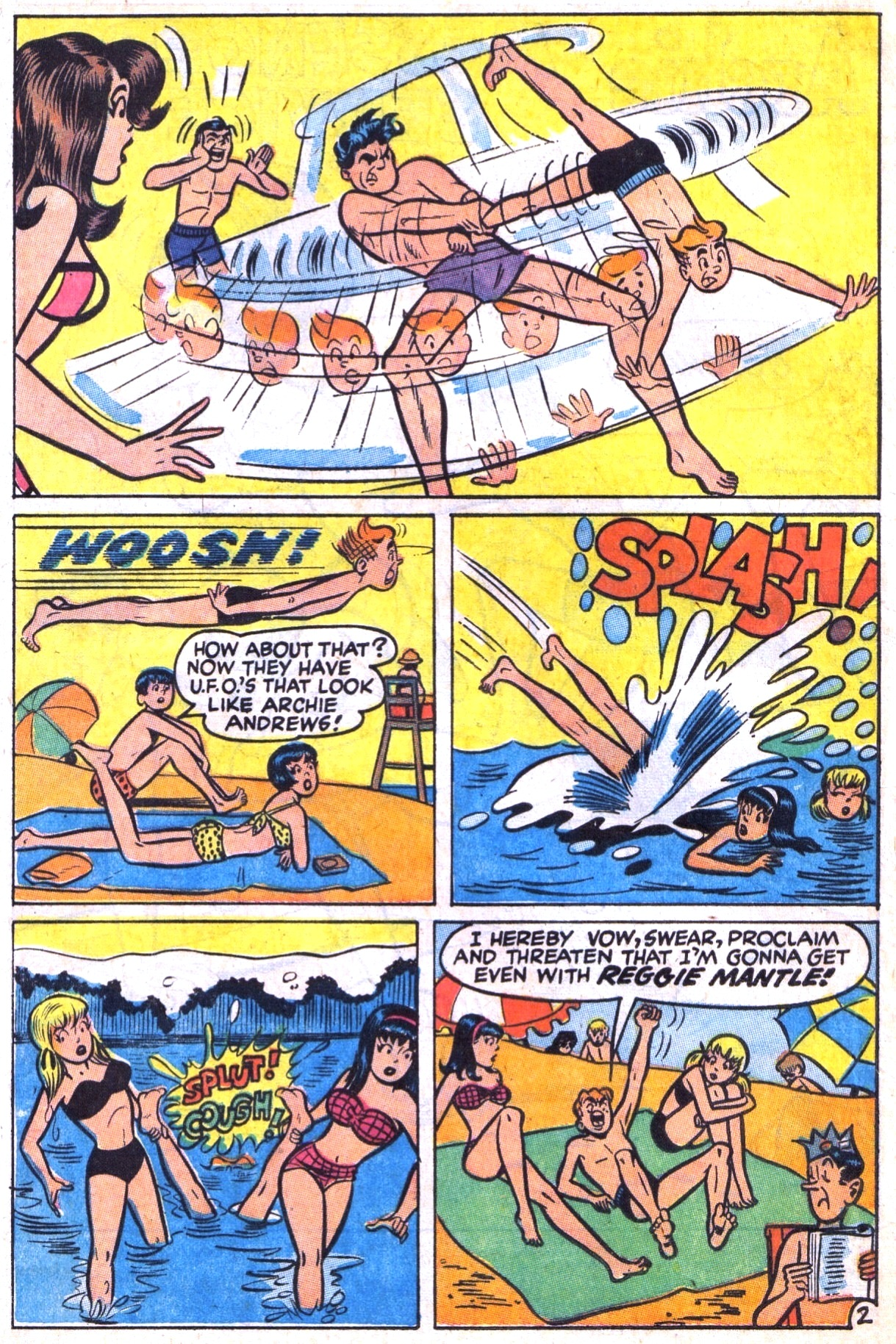 Read online Archie (1960) comic -  Issue #177 - 4