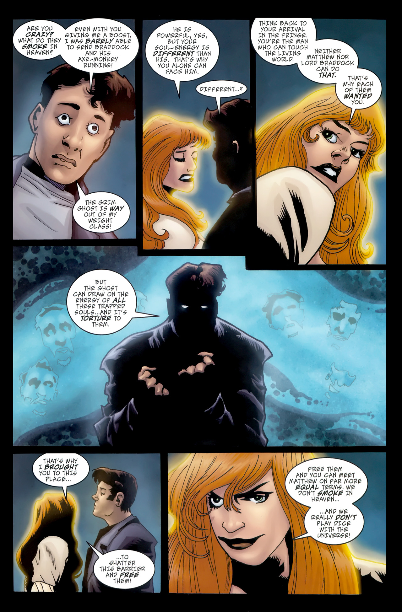 Read online The Grim Ghost comic -  Issue #5 - 9