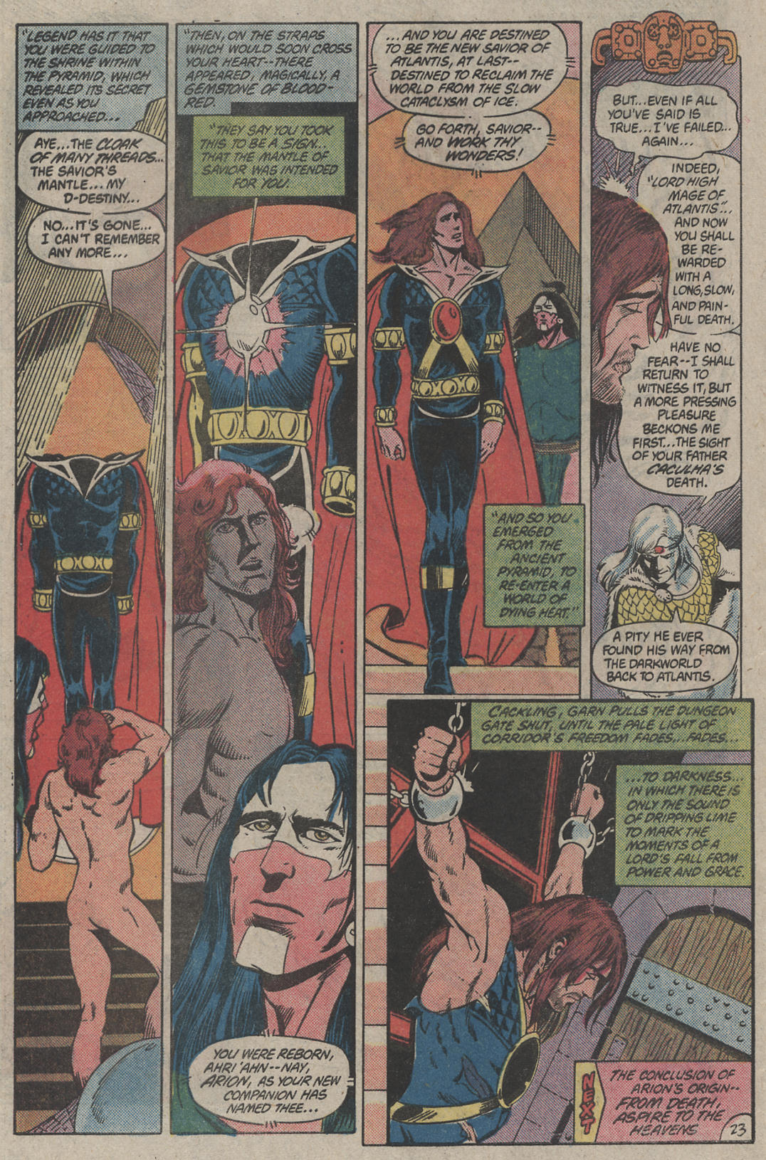 Read online Arion, Lord of Atlantis comic -  Issue #4 - 23