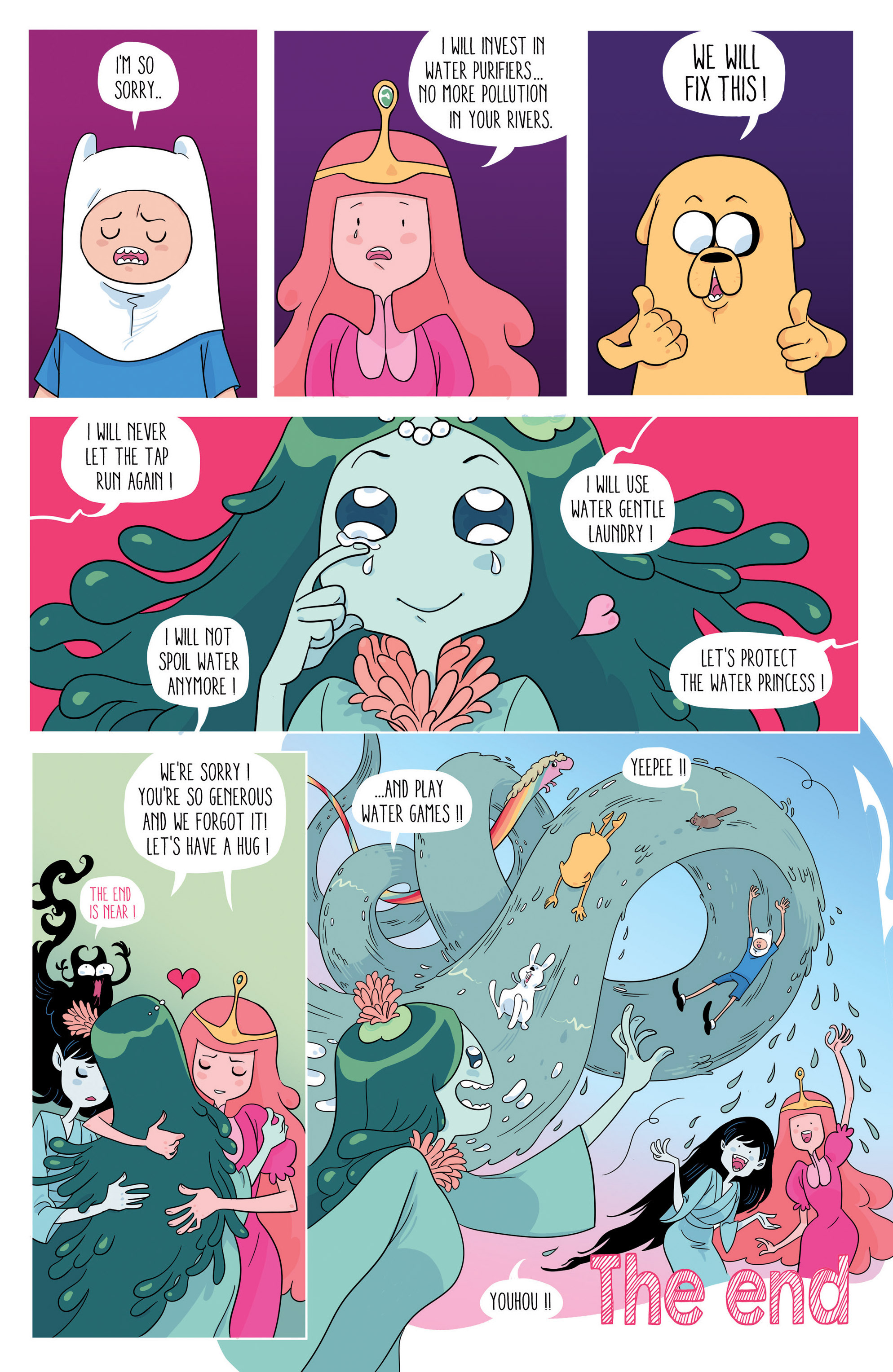 Read online Adventure Time comic -  Issue #46 - 24