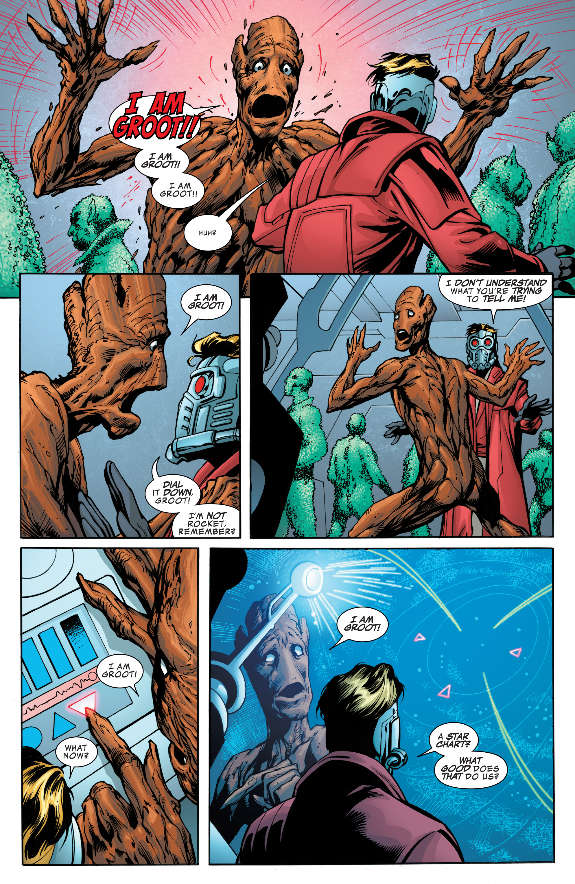 Read online Guardians of the Galaxy: Mother Entropy comic -  Issue #4 - 20