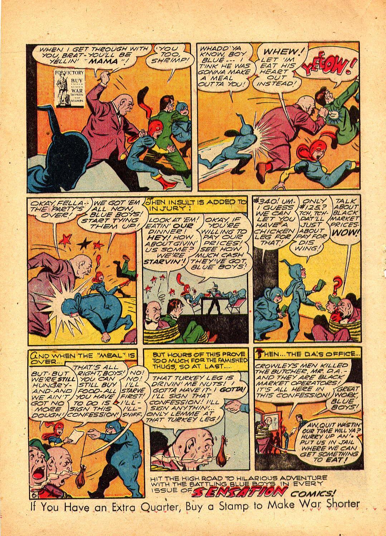 Read online Sensation (Mystery) Comics comic -  Issue #30 - 30