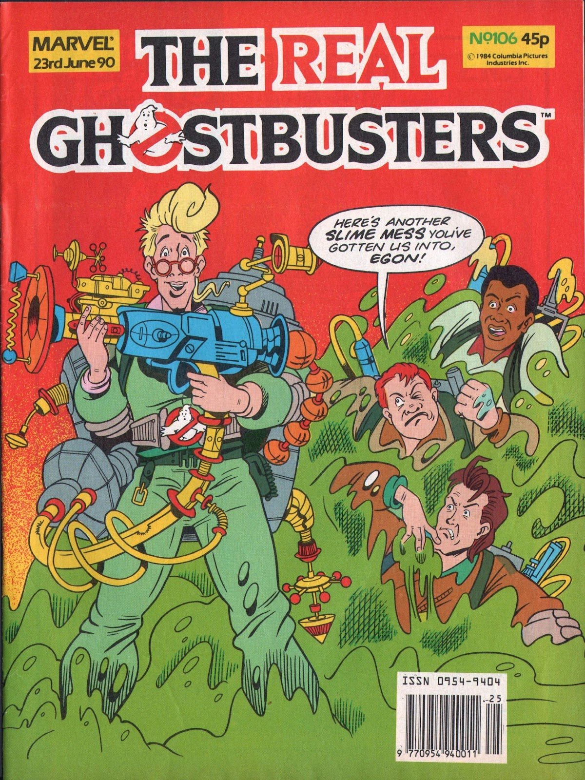 The Real Ghostbusters 106 Page 1