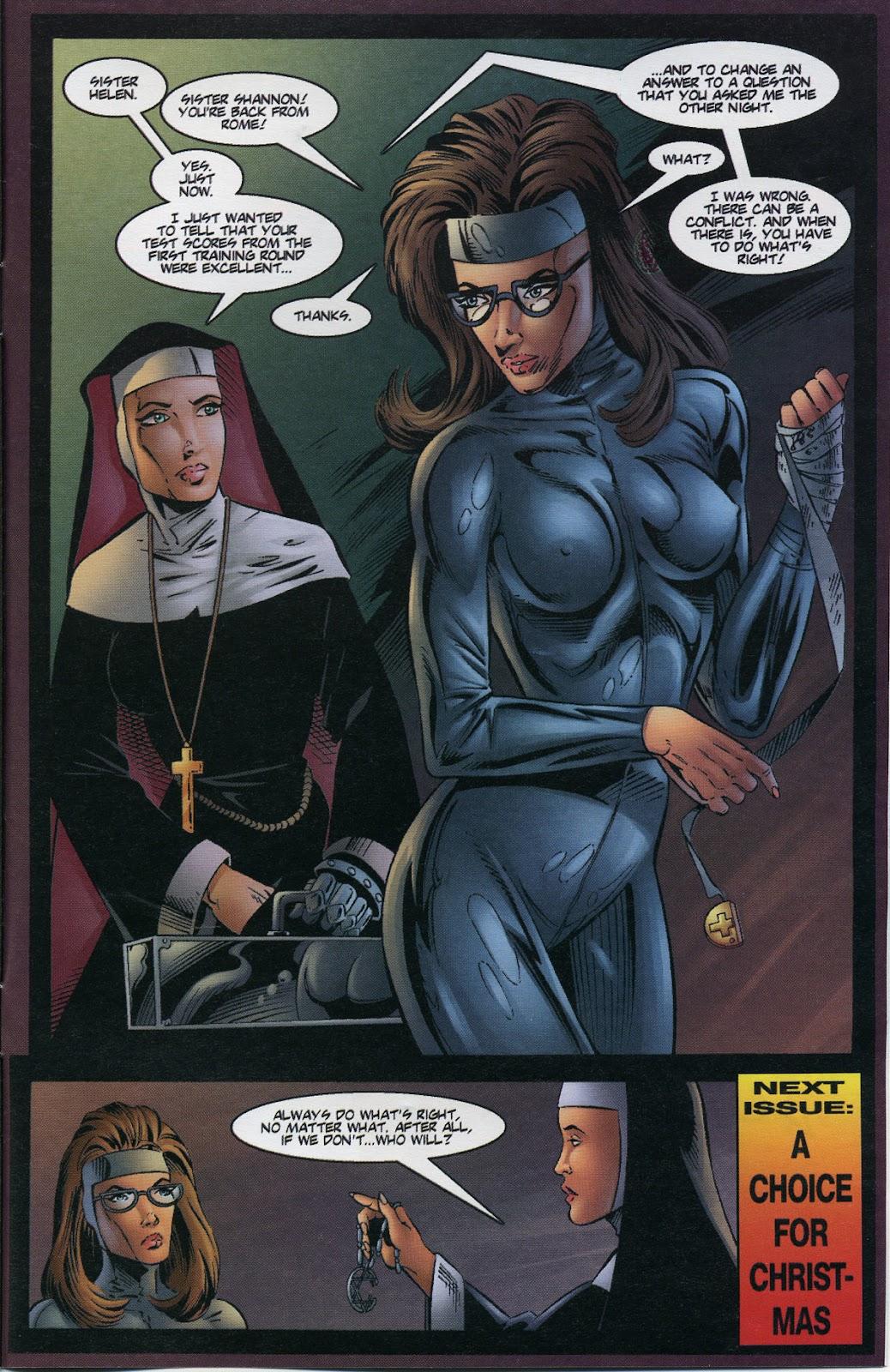 Warrior Nun Areala (1997) Issue #3 #3 - English 25