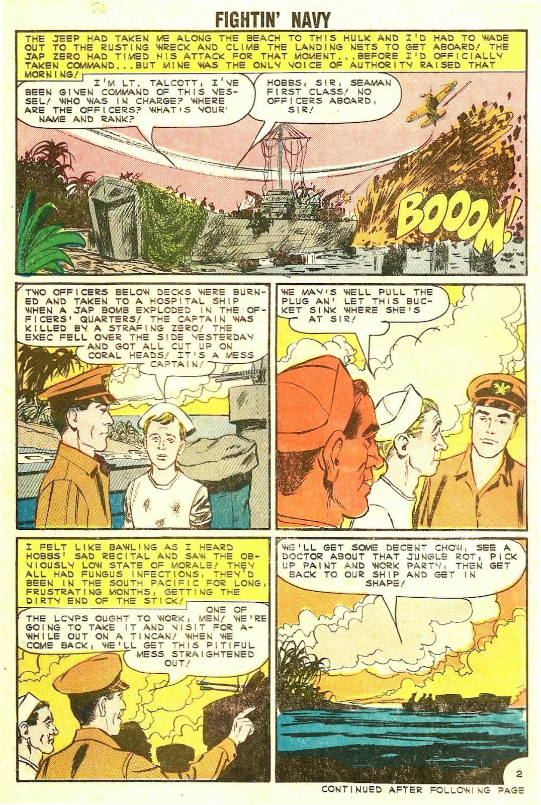 Read online Fightin' Navy comic -  Issue #114 - 14