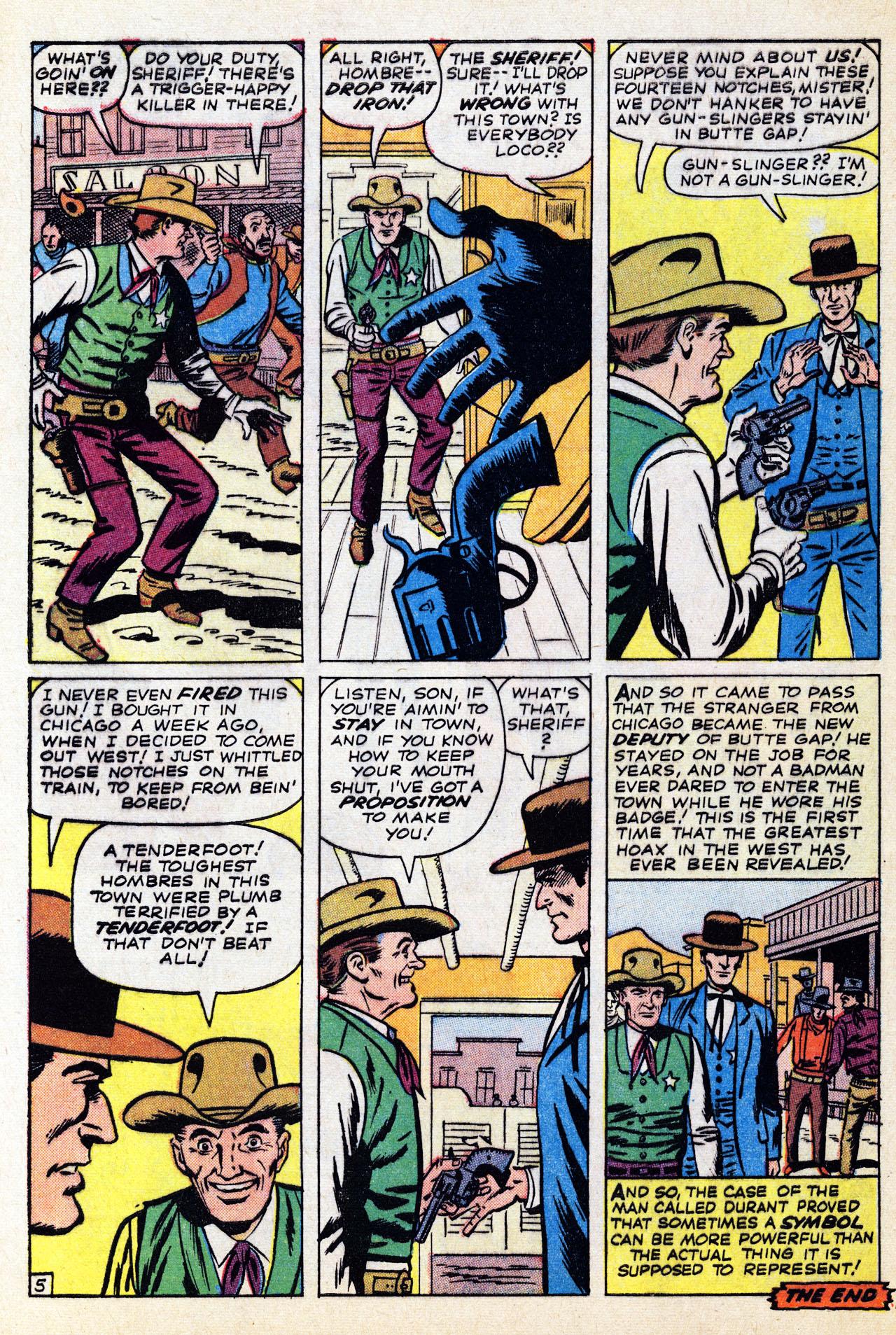 Read online Two-Gun Kid comic -  Issue #67 - 32
