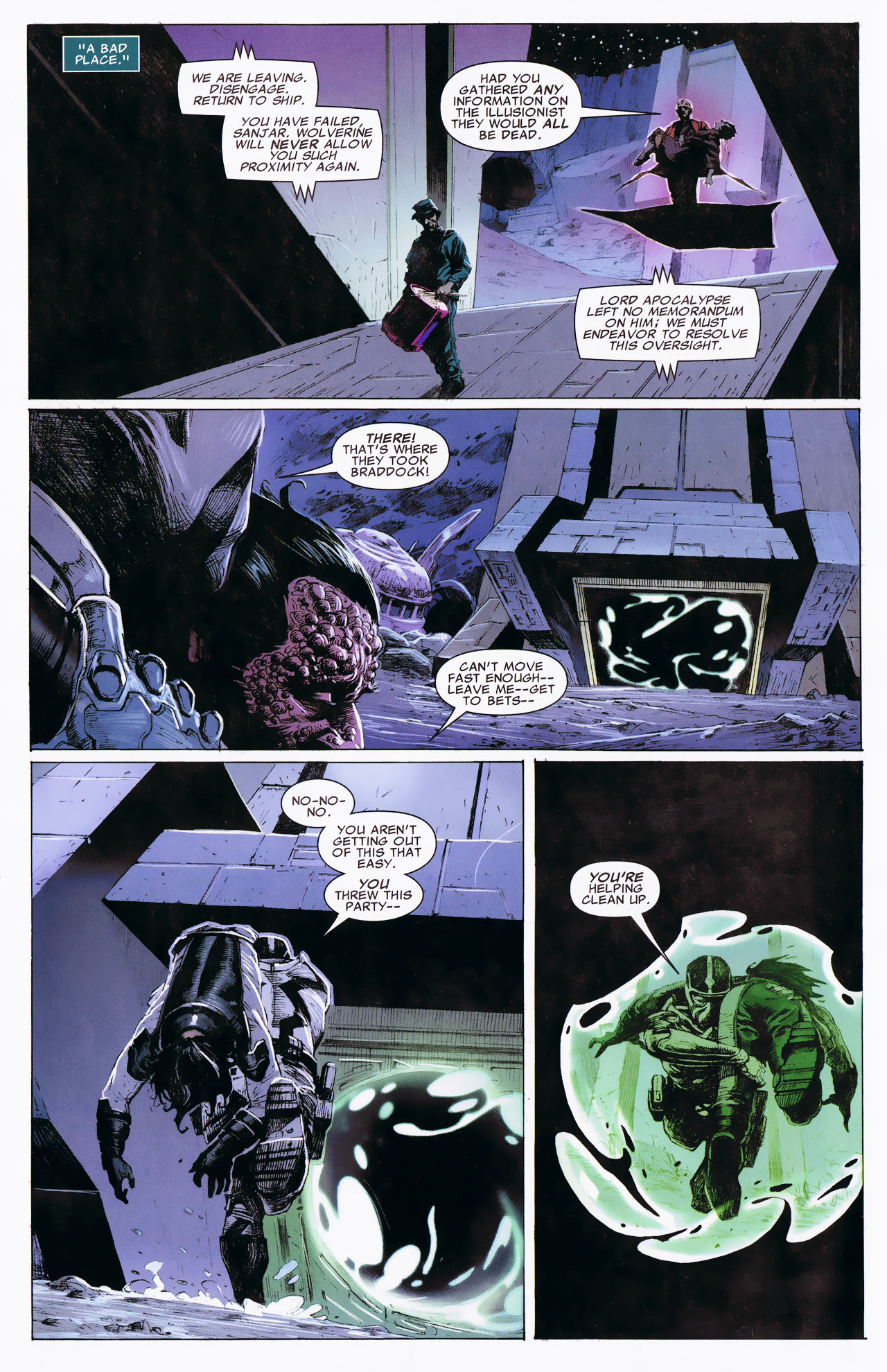 Read online Uncanny X-Force: The Apocalypse Solution comic -  Issue # Full - 68