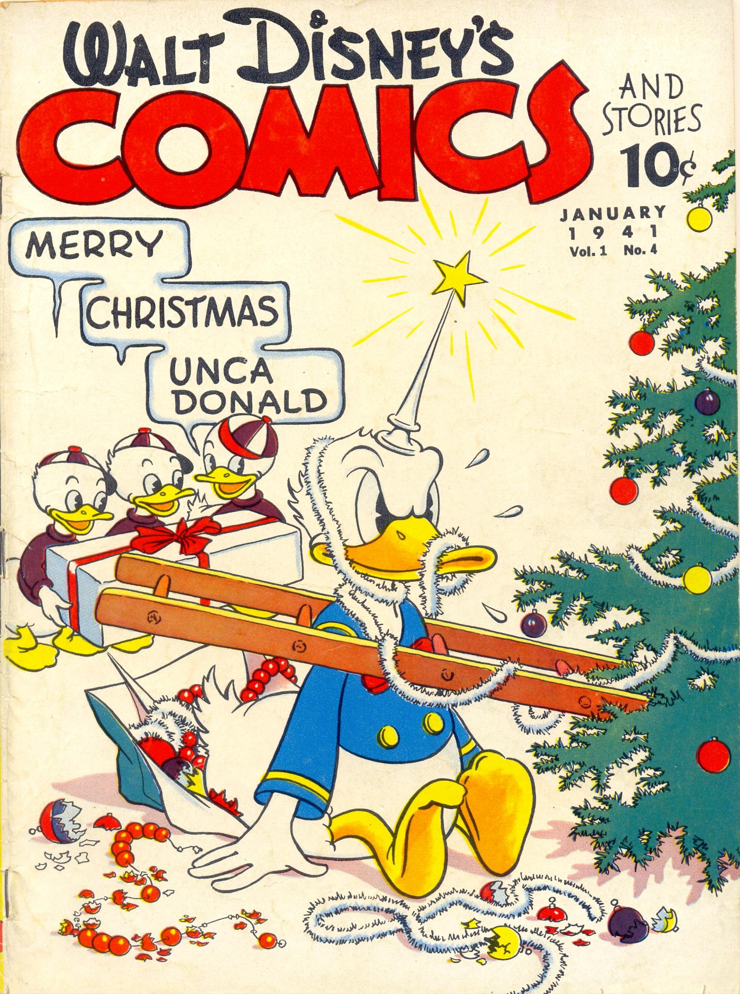 Walt Disneys Comics and Stories 4 Page 1