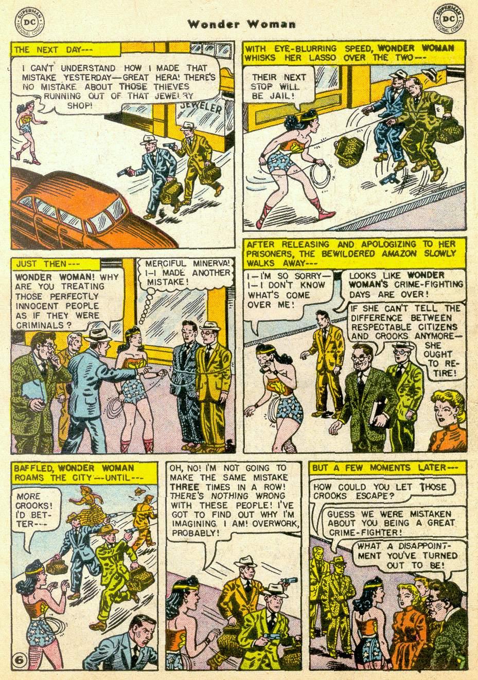 Read online Wonder Woman (1942) comic -  Issue #76 - 30