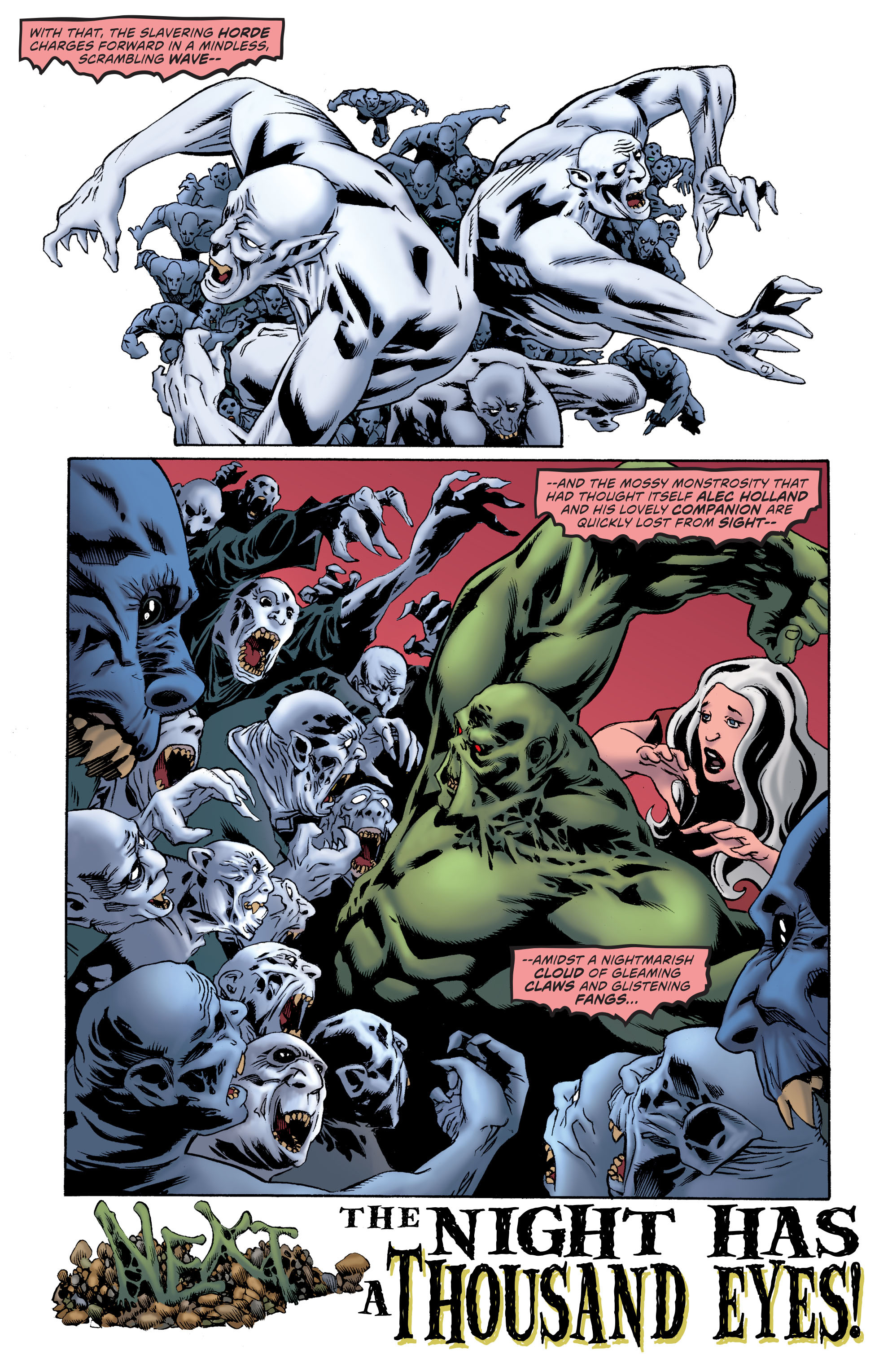 Read online Convergence Swamp Thing comic -  Issue #1 - 24