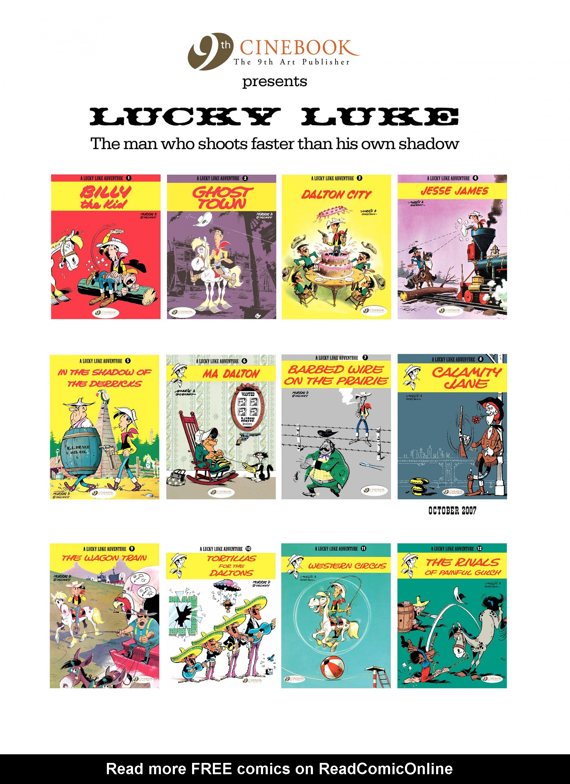 Read online A Lucky Luke Adventure comic -  Issue #7 - 47