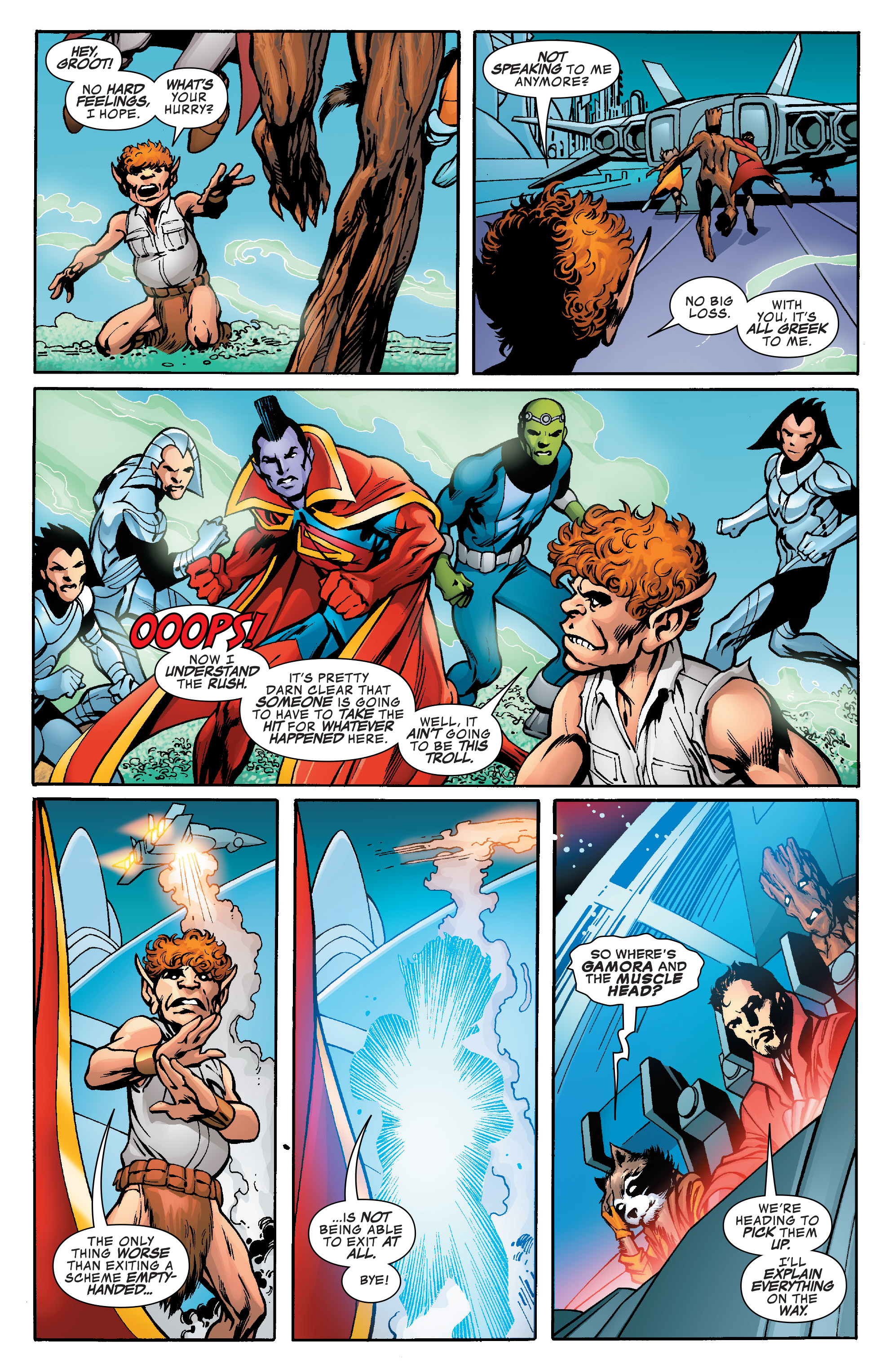 Read online Guardians of the Galaxy: Mother Entropy comic -  Issue #5 - 16