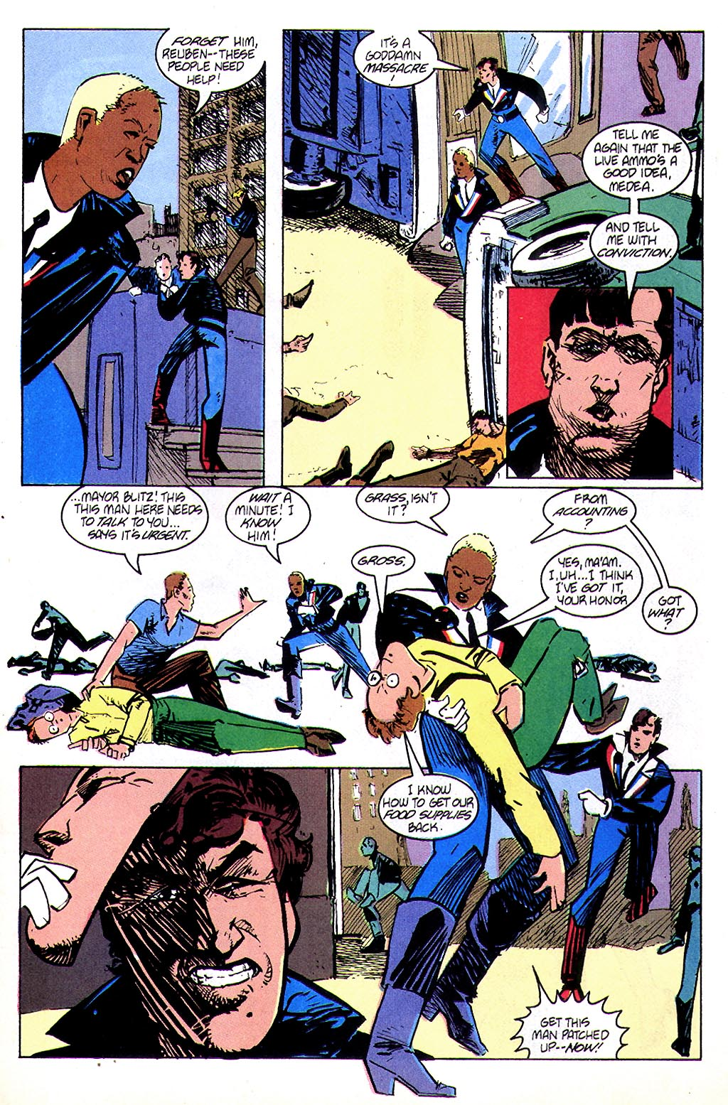 Read online American Flagg! comic -  Issue #45 - 17