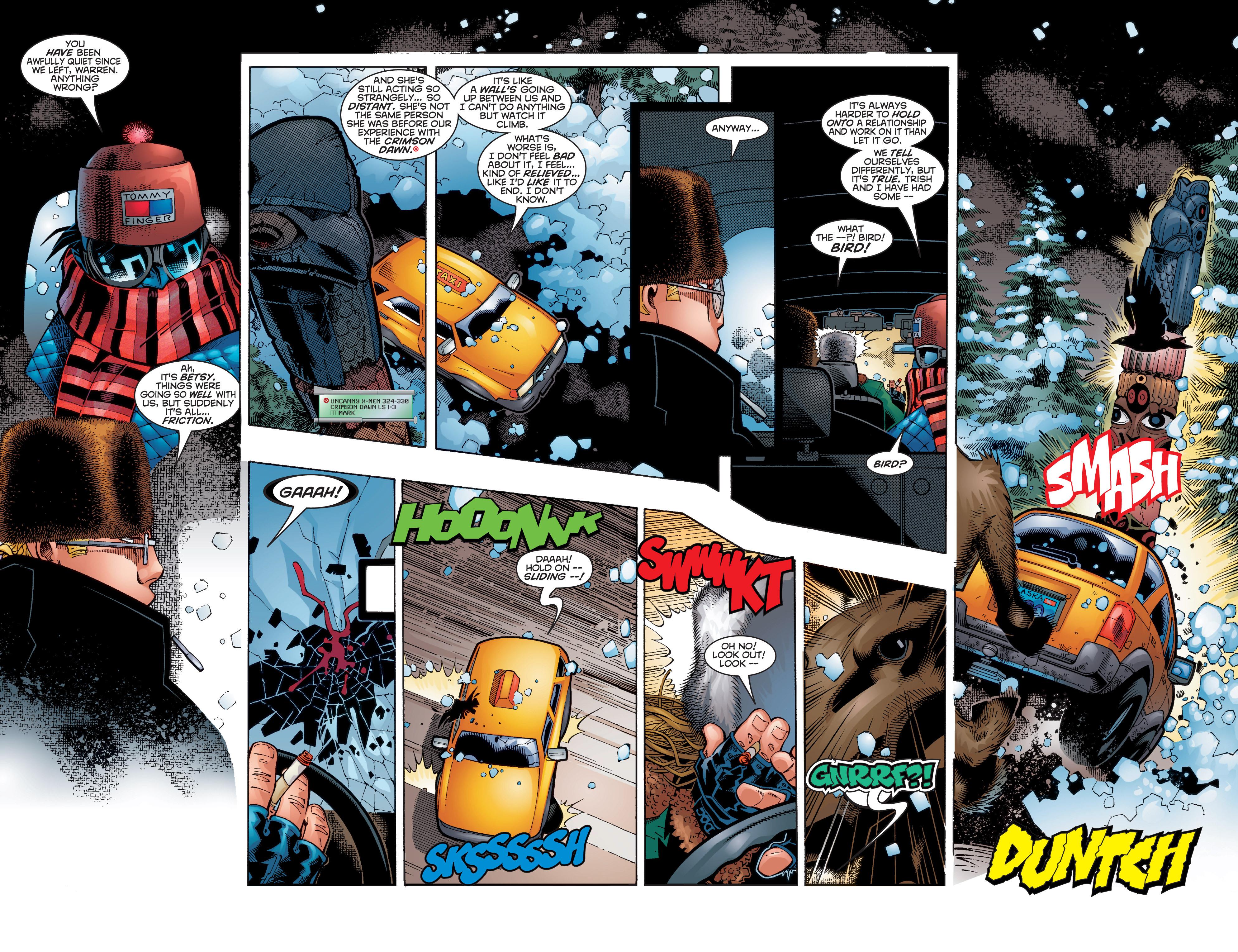 Read online Uncanny X-Men (1963) comic -  Issue #356 - 3