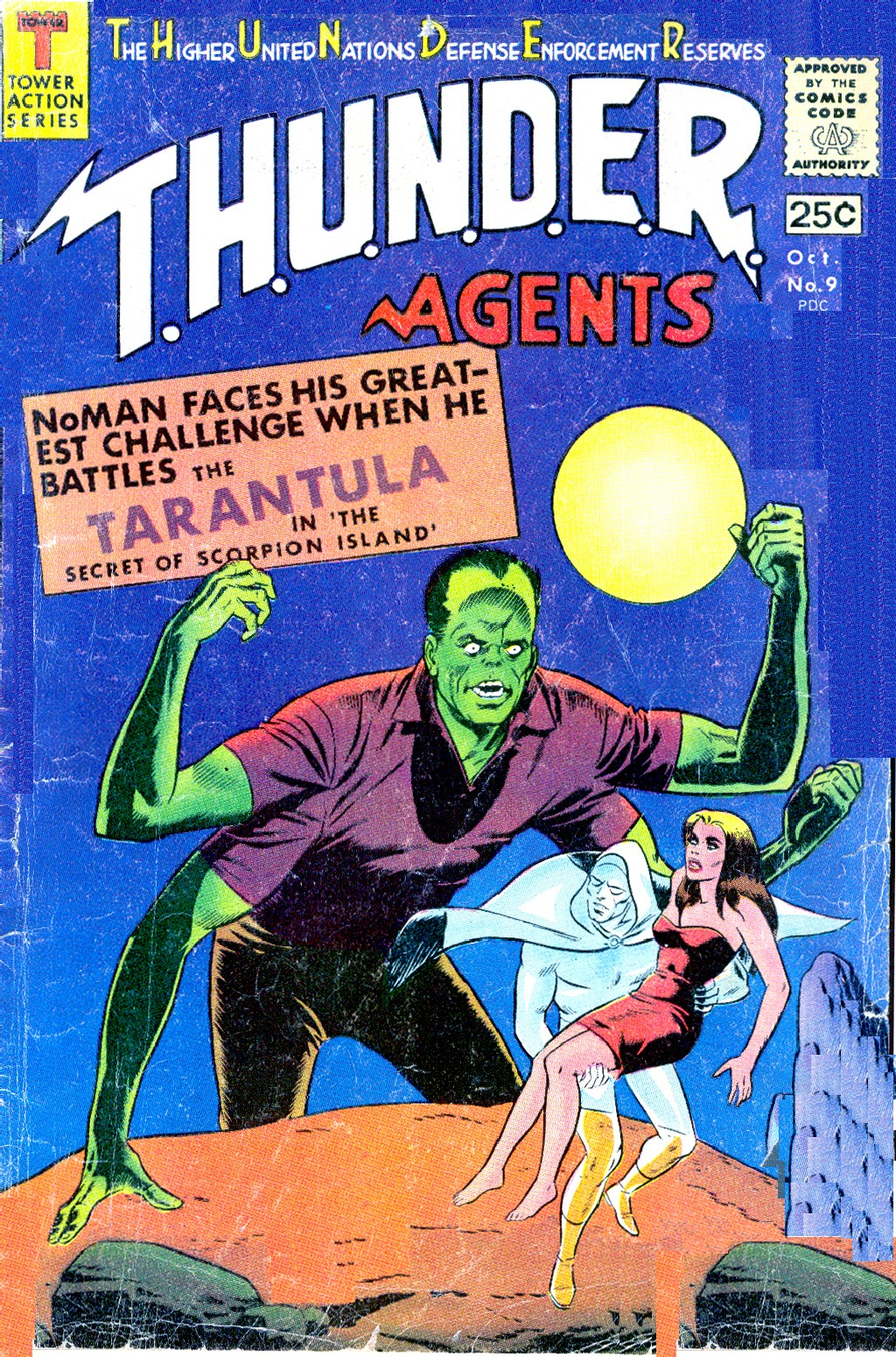 T.H.U.N.D.E.R. Agents (1965) issue 9 - Page 1