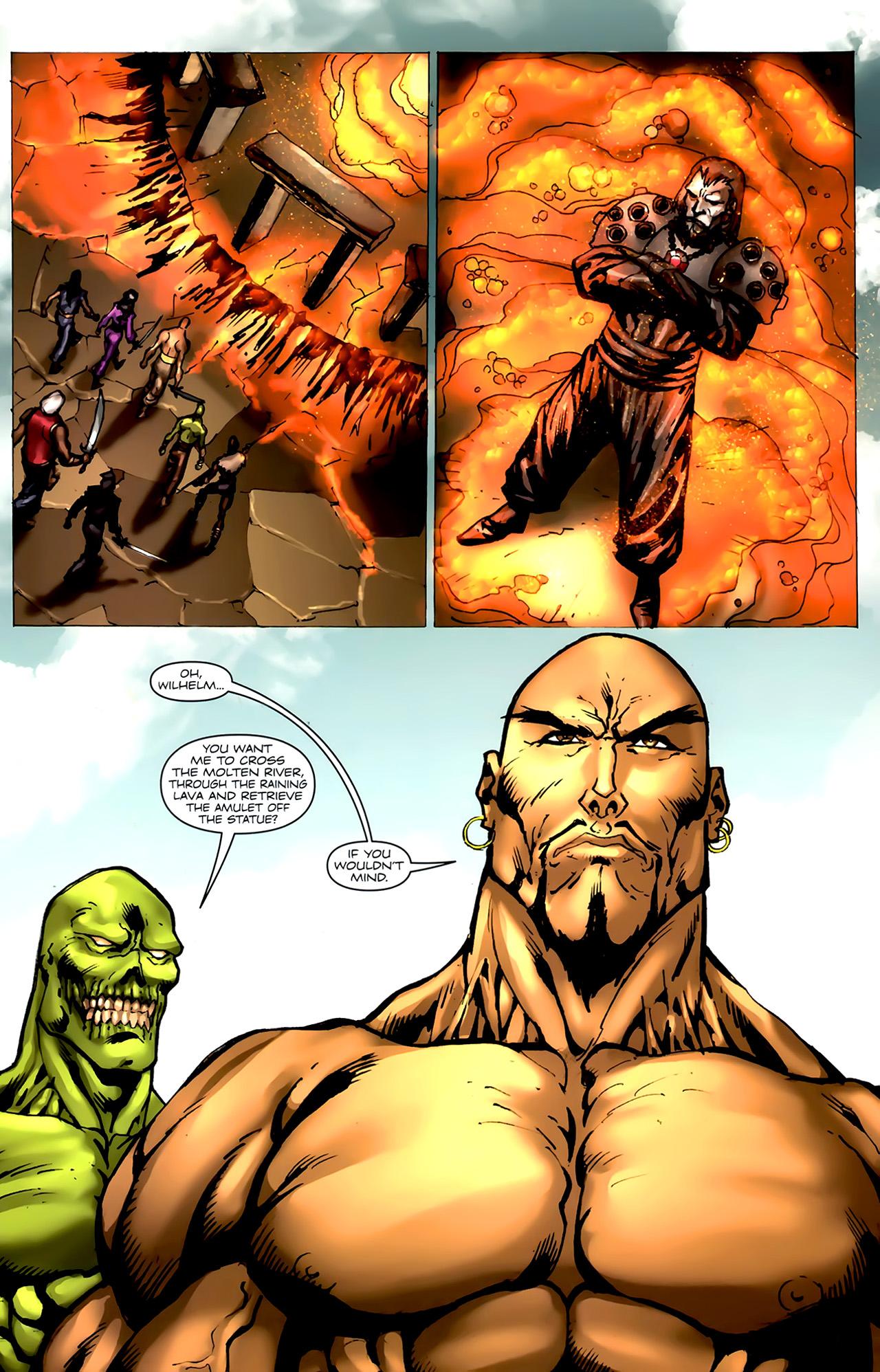 Read online 1001 Arabian Nights: The Adventures of Sinbad comic -  Issue #4 - 24