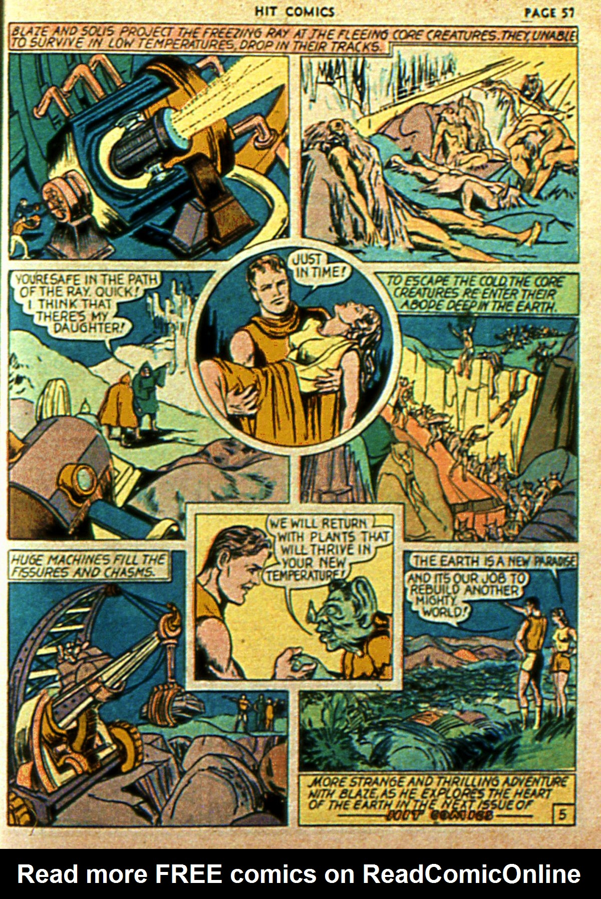 Read online Hit Comics comic -  Issue #2 - 59