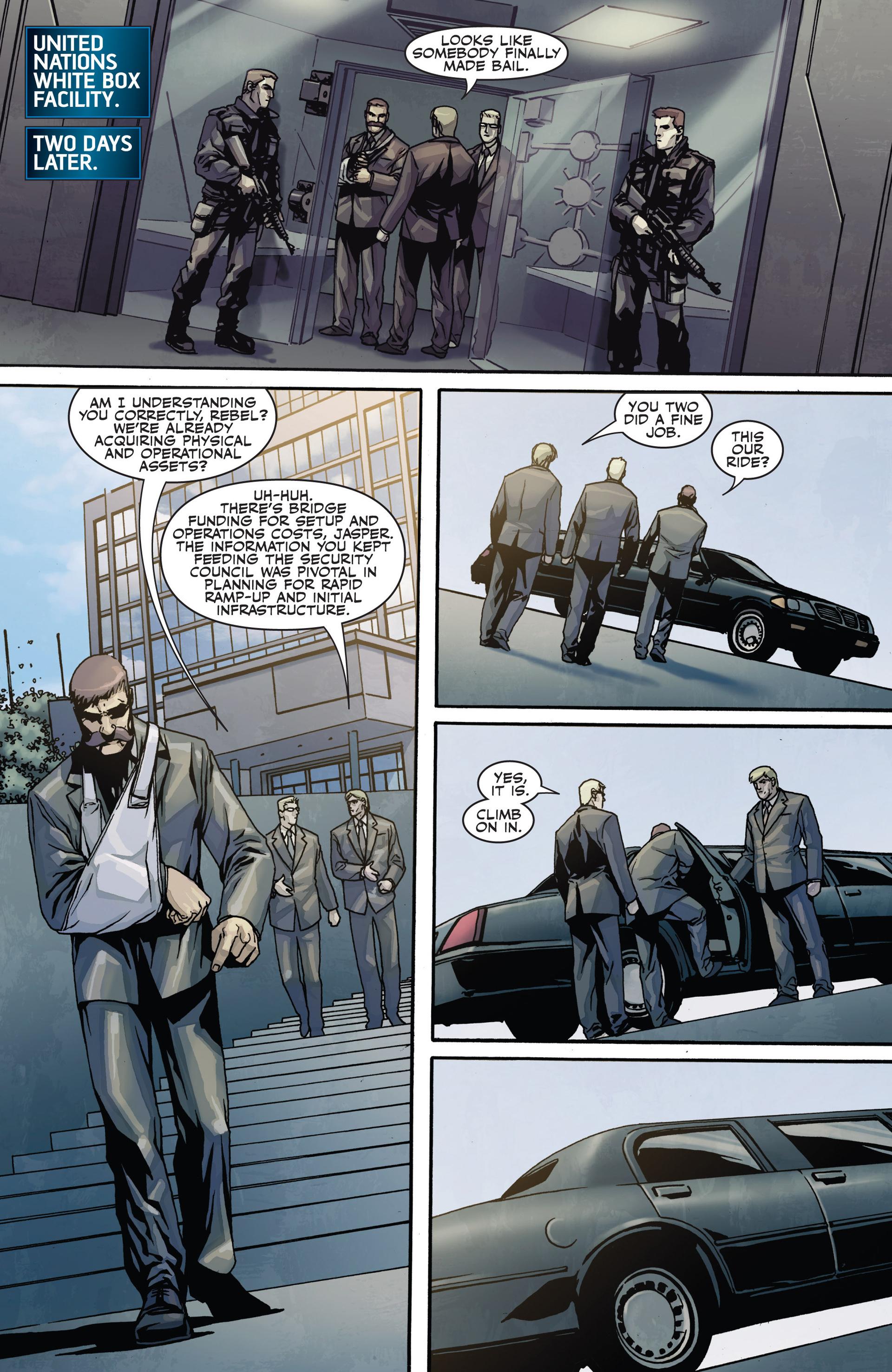 Read online Secret Warriors comic -  Issue #28 - 10