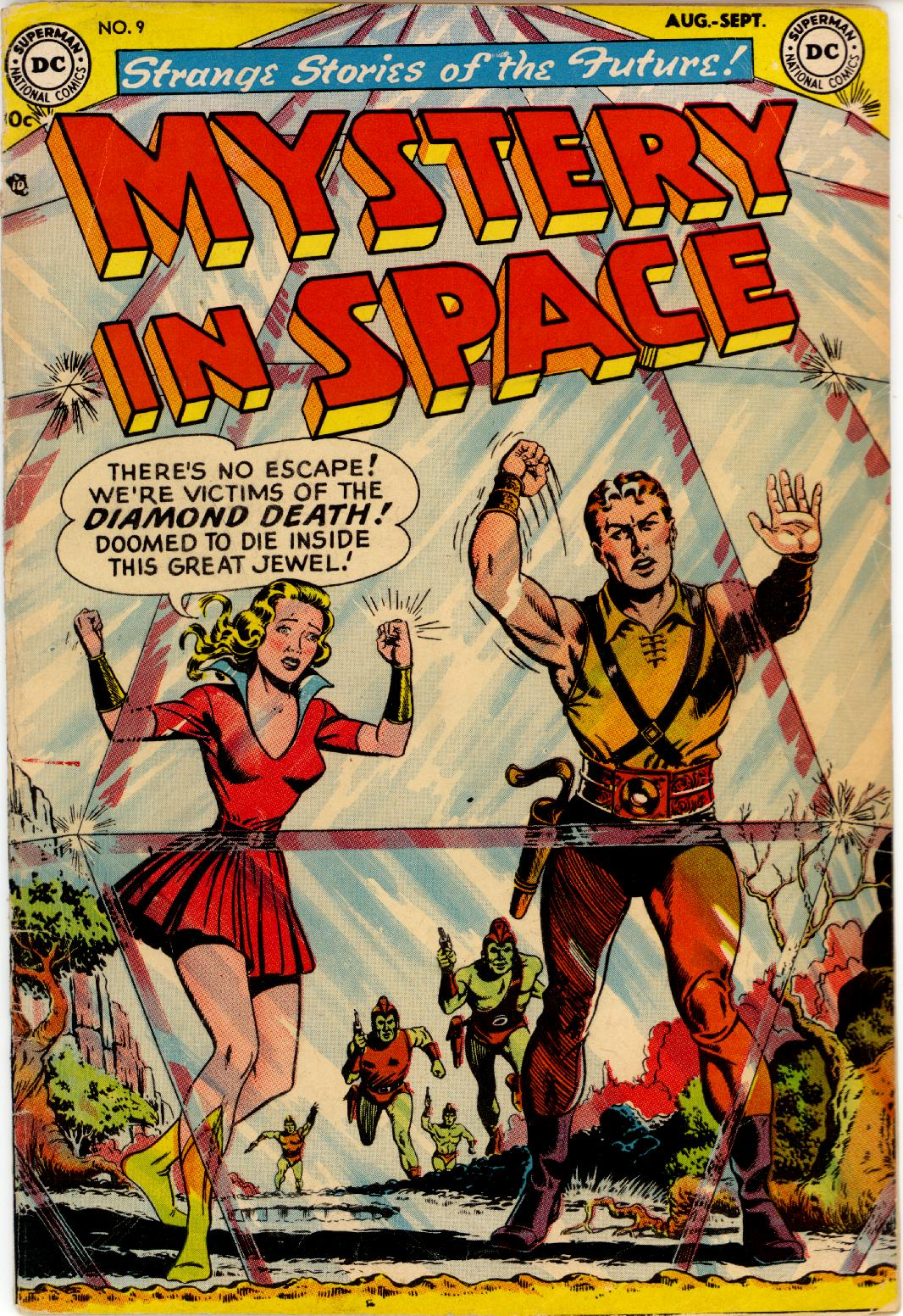 Mystery in Space (1951) issue 9 - Page 1