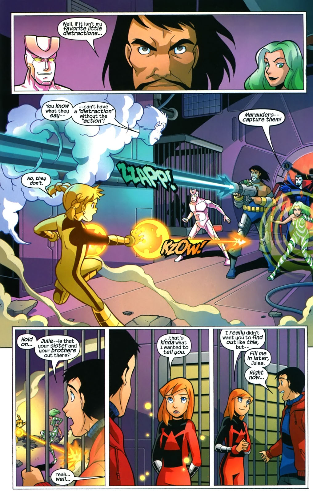 Read online X-Men and Power Pack comic -  Issue #4 - 18