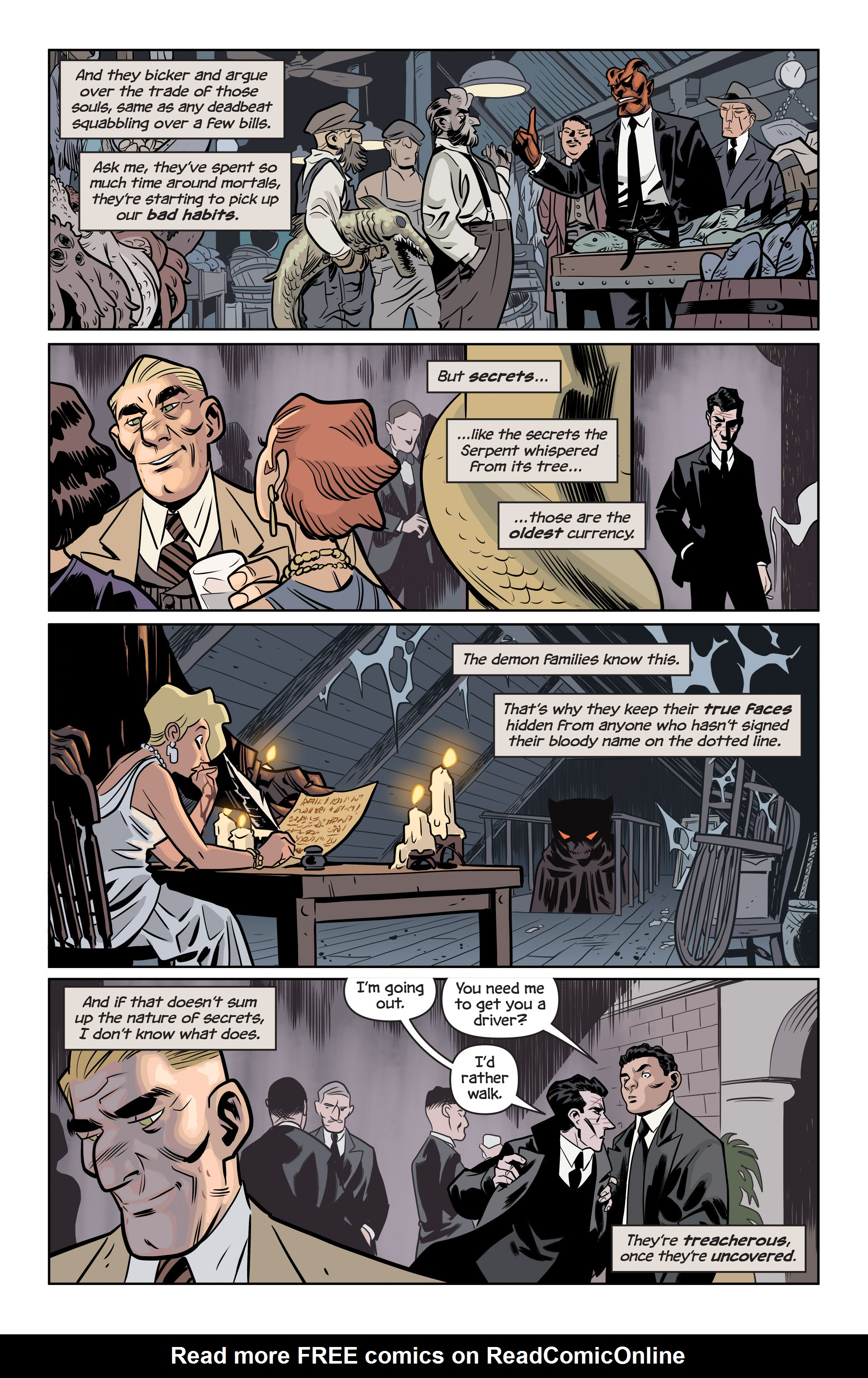 Read online The Damned comic -  Issue #1 - 16
