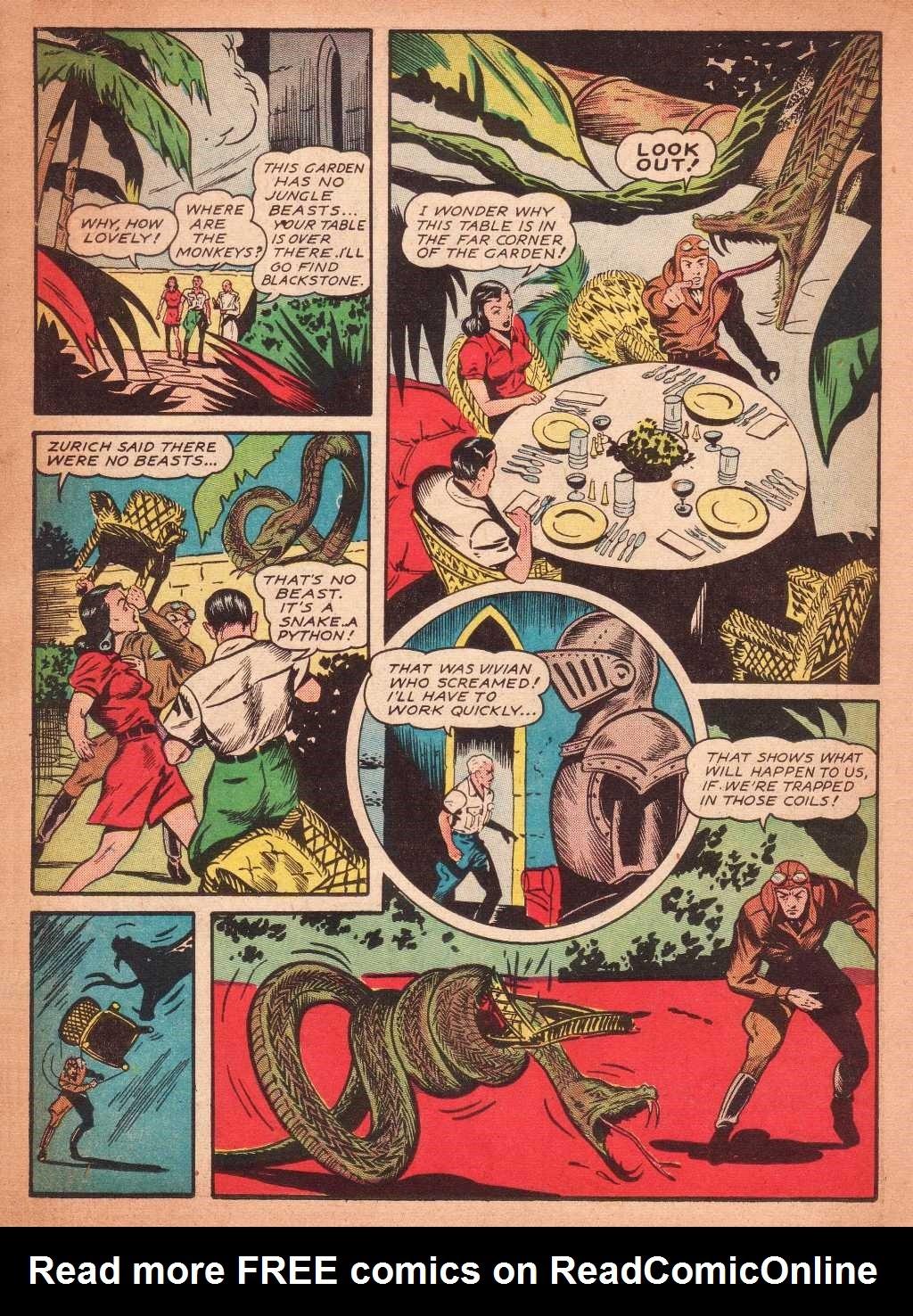 Read online Super-Magician Comics comic -  Issue #2 - 22