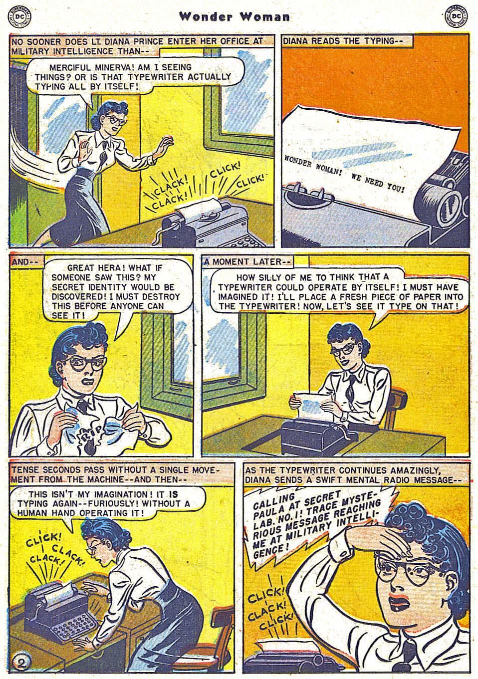 Read online Wonder Woman (1942) comic -  Issue #38 - 18