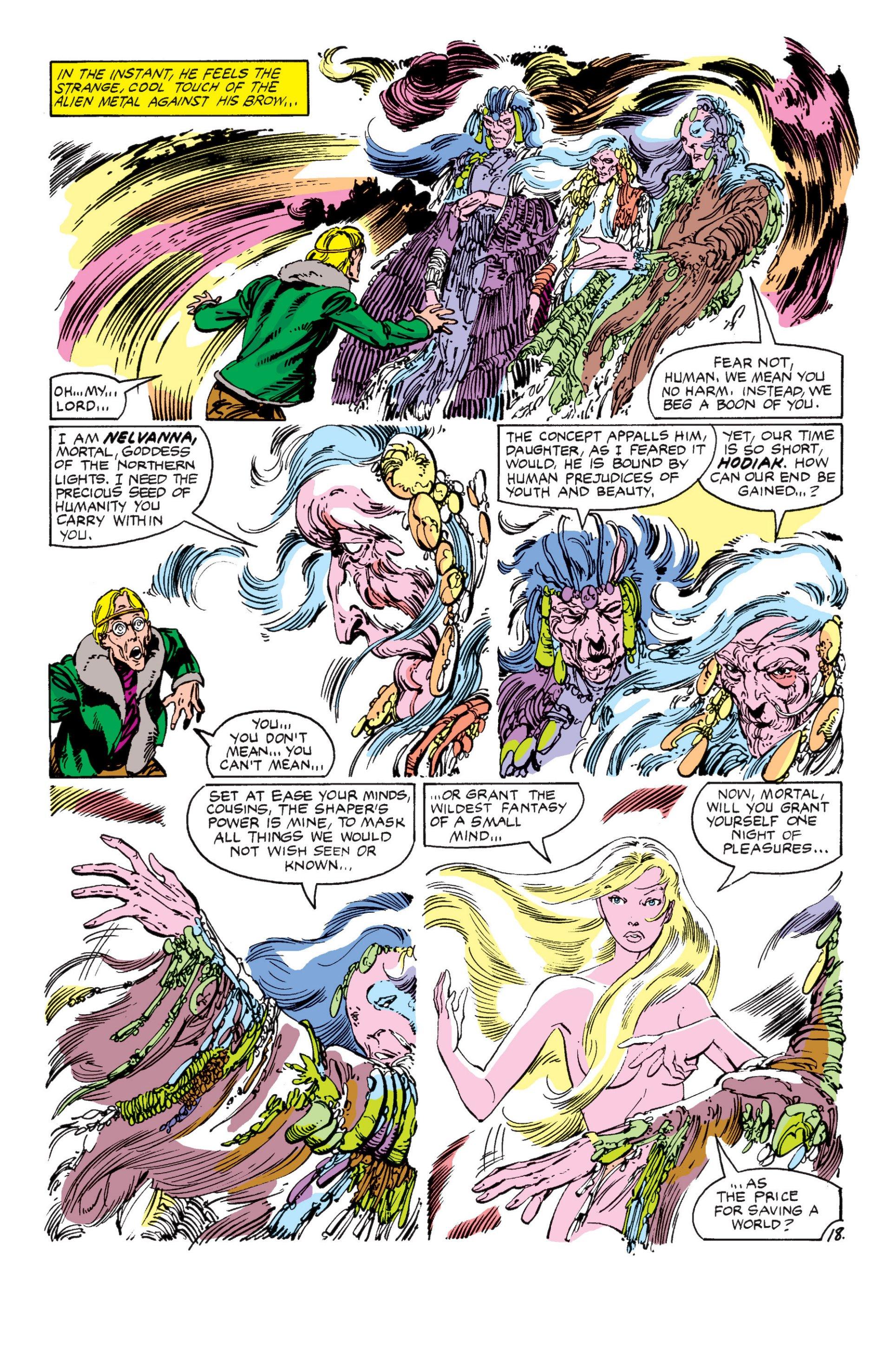 Read online Alpha Flight (1983) comic -  Issue #7 - 19