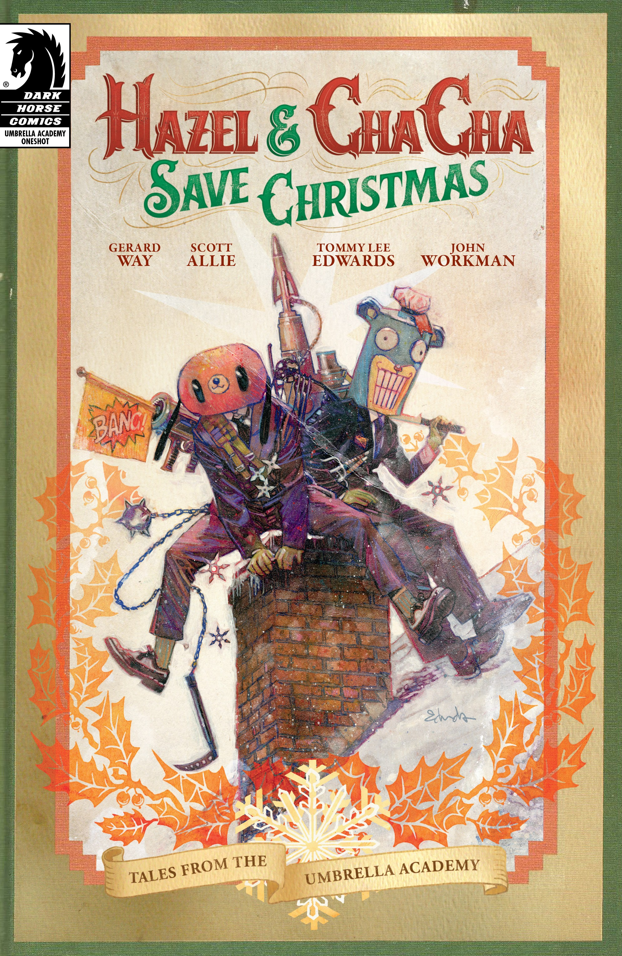 Hazel and Cha Cha Save Christmas: Tales from the Umbrella Academy Full Page 1