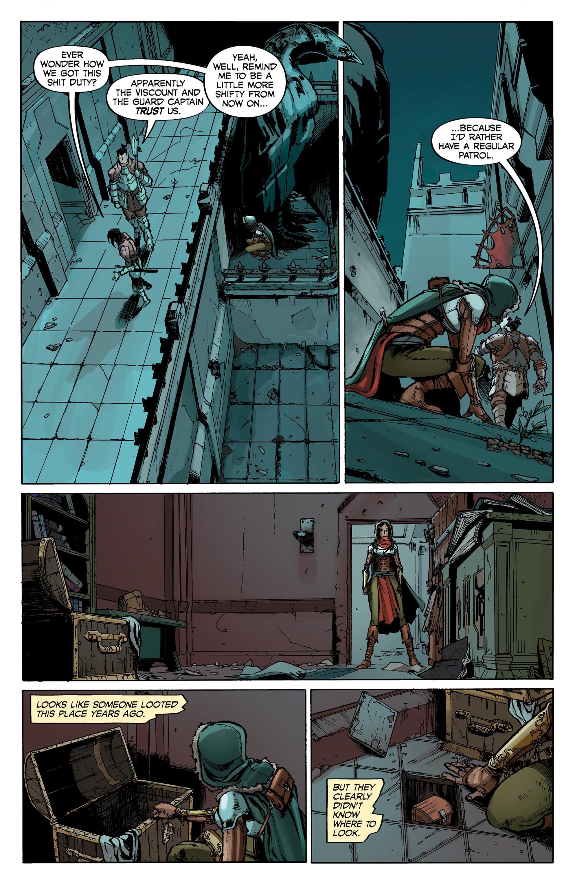 Read online Dragon Age: Knight Errant comic -  Issue #1 - 14