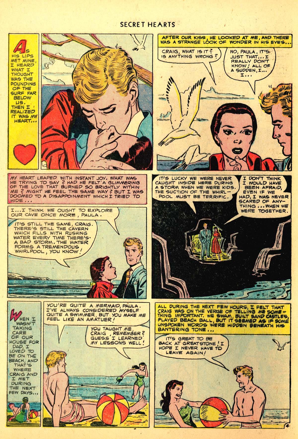 Read online Secret Hearts comic -  Issue #6 - 6