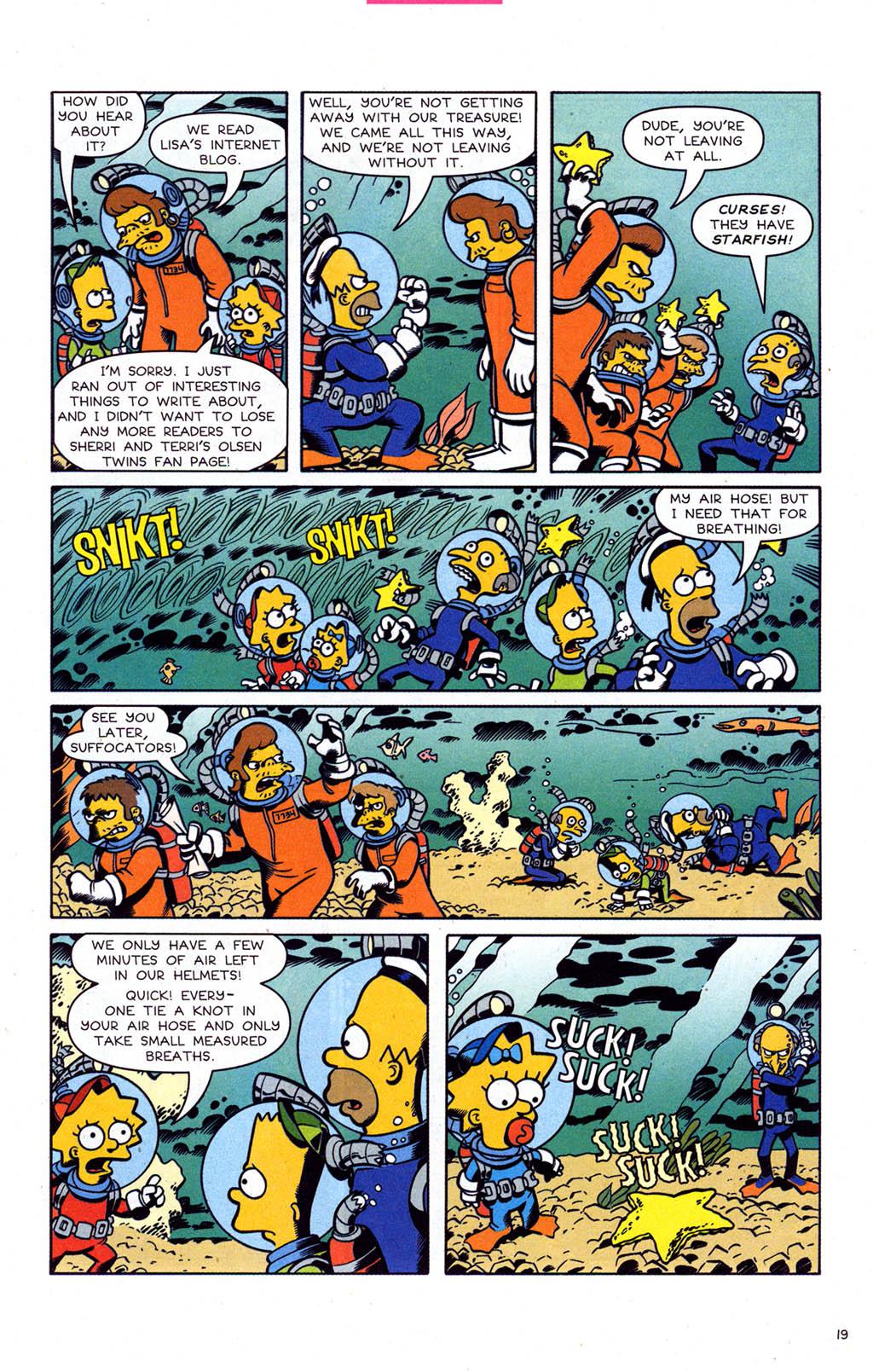 Read online Simpsons Comics comic -  Issue #102 - 20