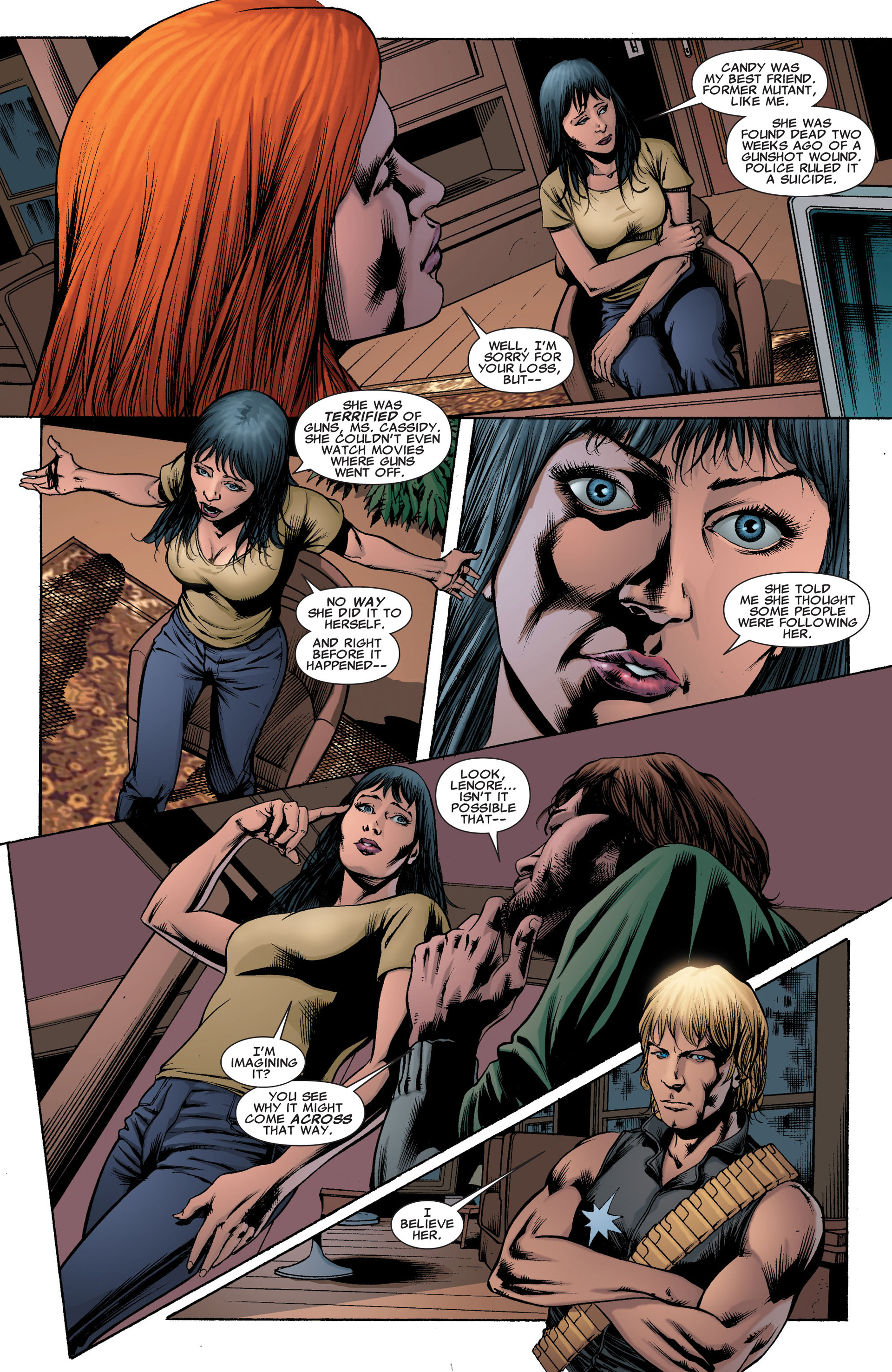 Read online X-Factor (2006) comic -  Issue #41 - 11