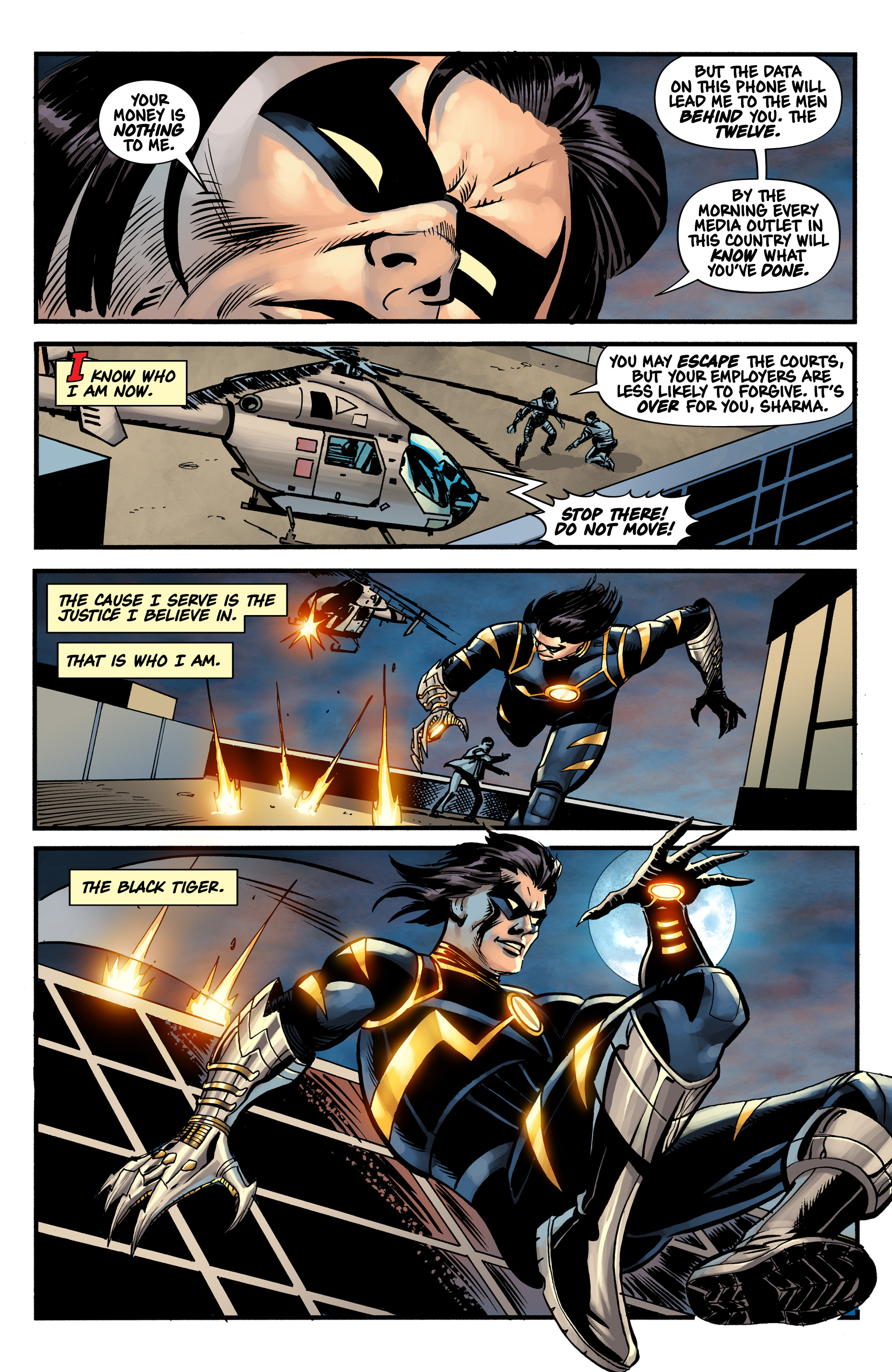 Read online Shadow Tiger comic -  Issue #1 - 31